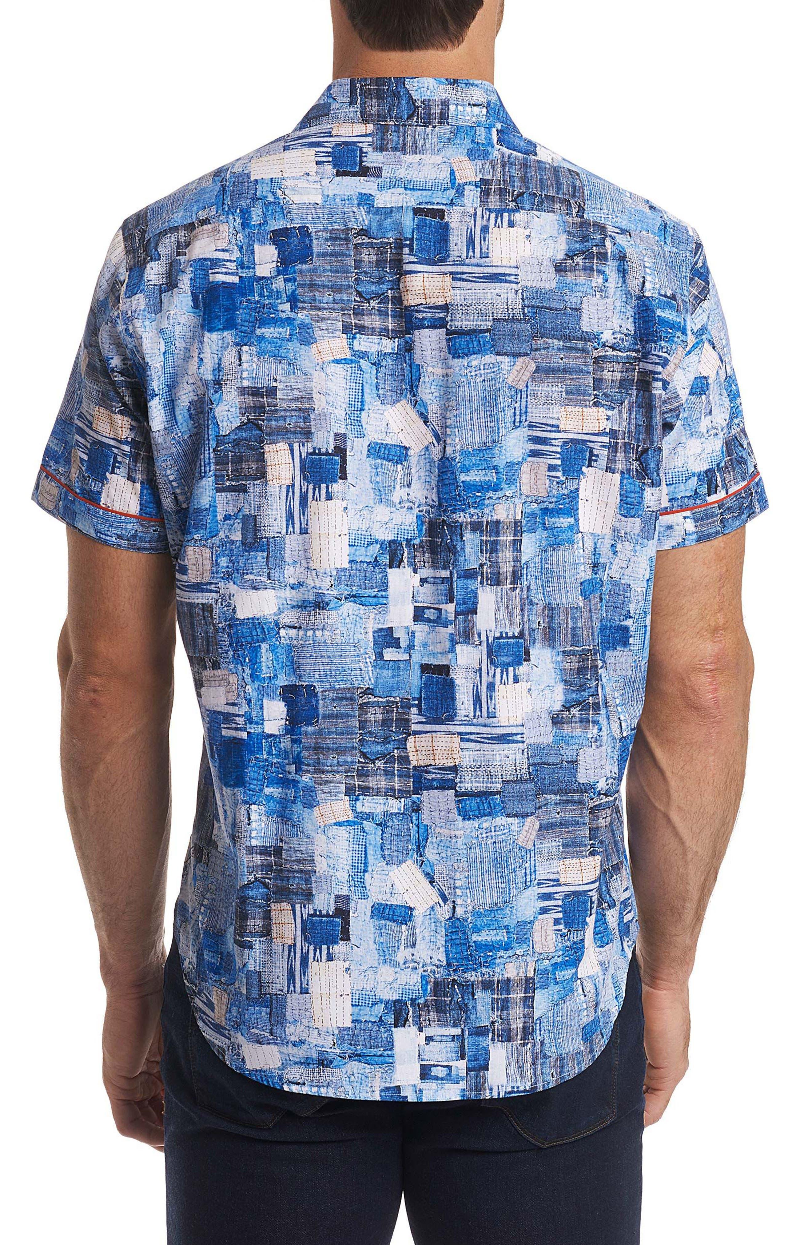Canberra Classic Fit Sport Shirt,                             Alternate thumbnail 5, color,                             Blue