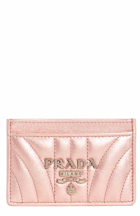 Prada Quilted Leather Card Case