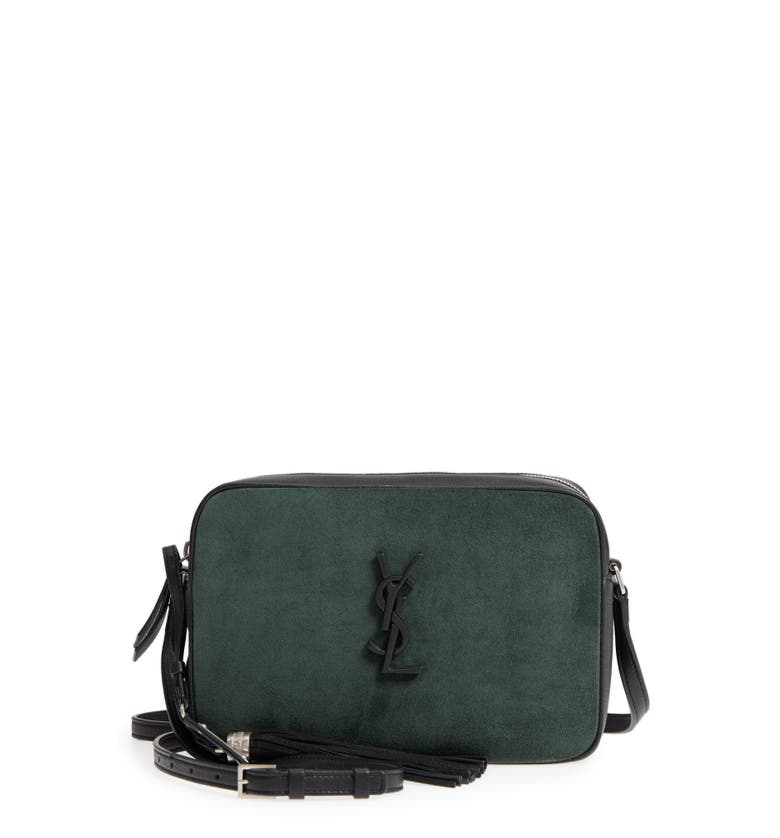 Saint Laurent Lou Suede Camera Bag