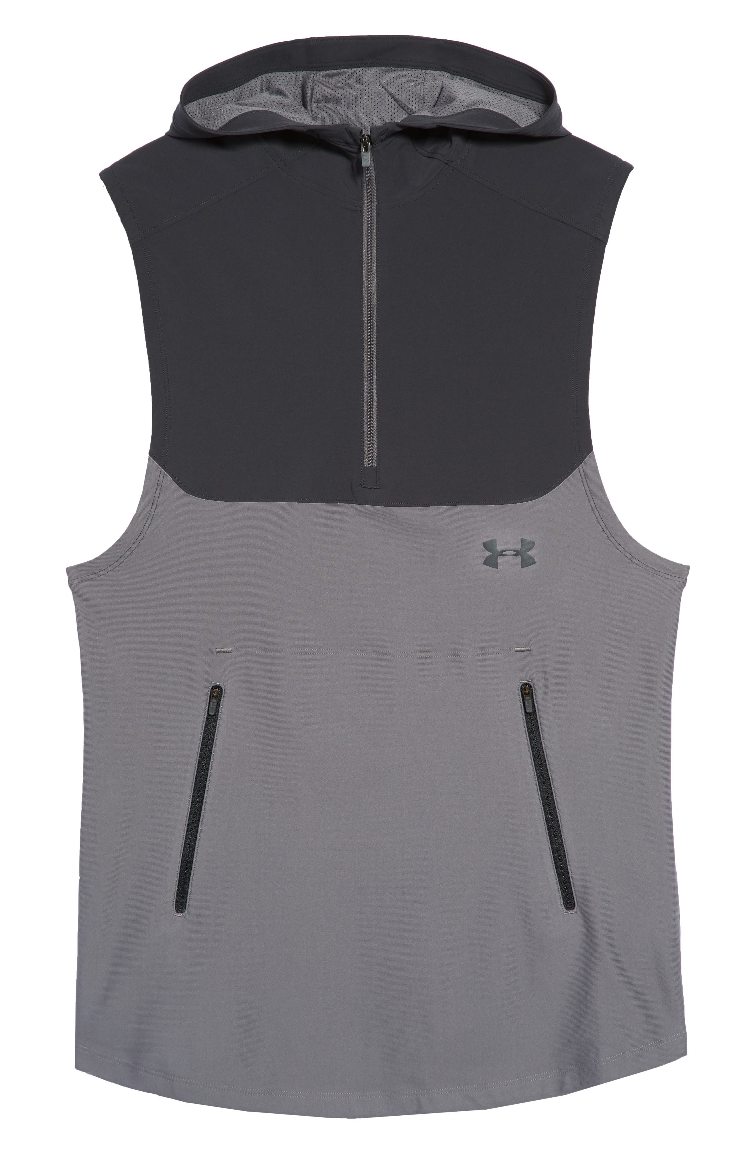 Threadborne Vanish Vest,                             Alternate thumbnail 6, color,                             Anthracite / Graphite/ Iron