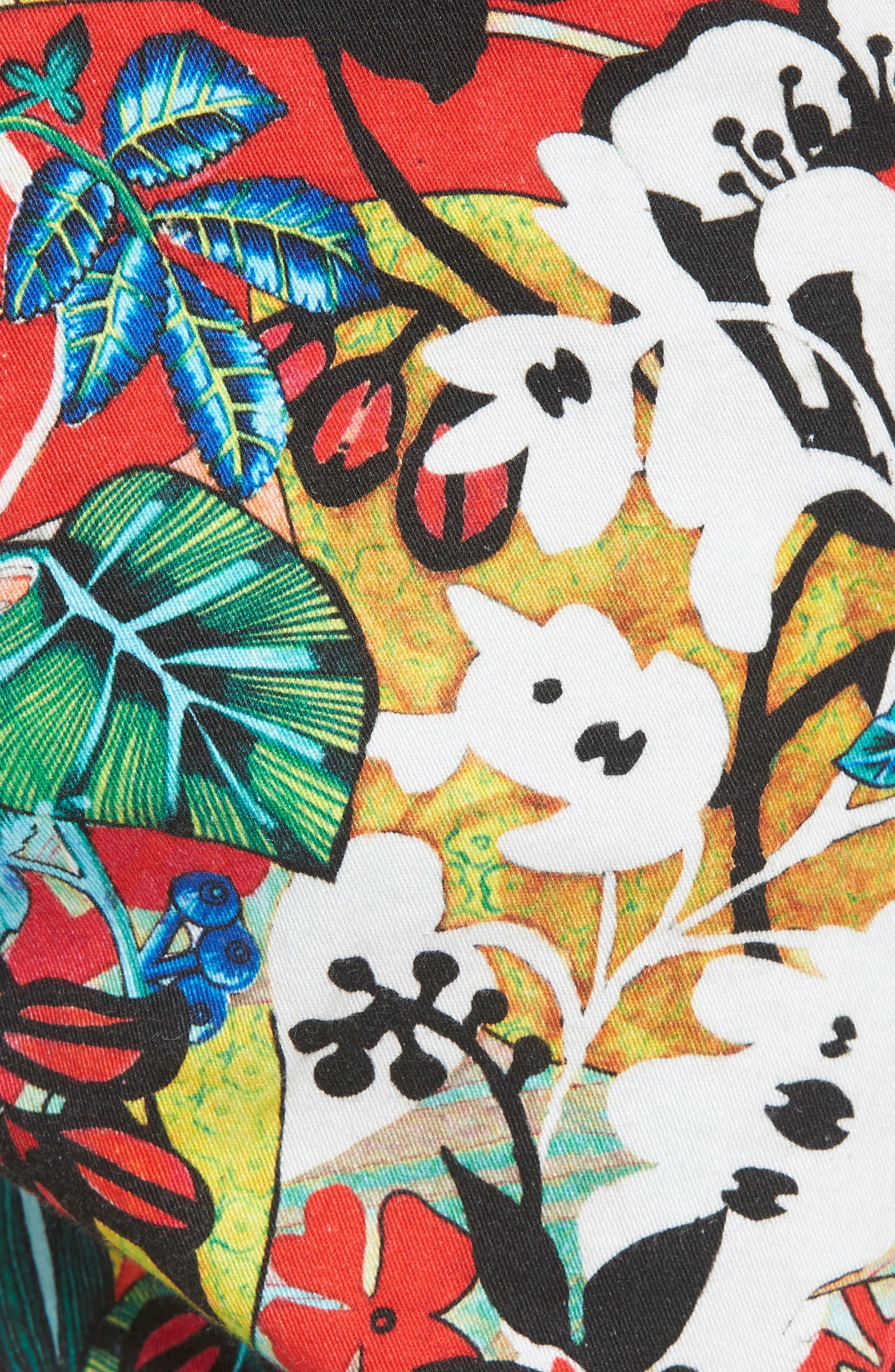 Habana Classic Fit Woven Shorts,                             Alternate thumbnail 5, color,                             Multi