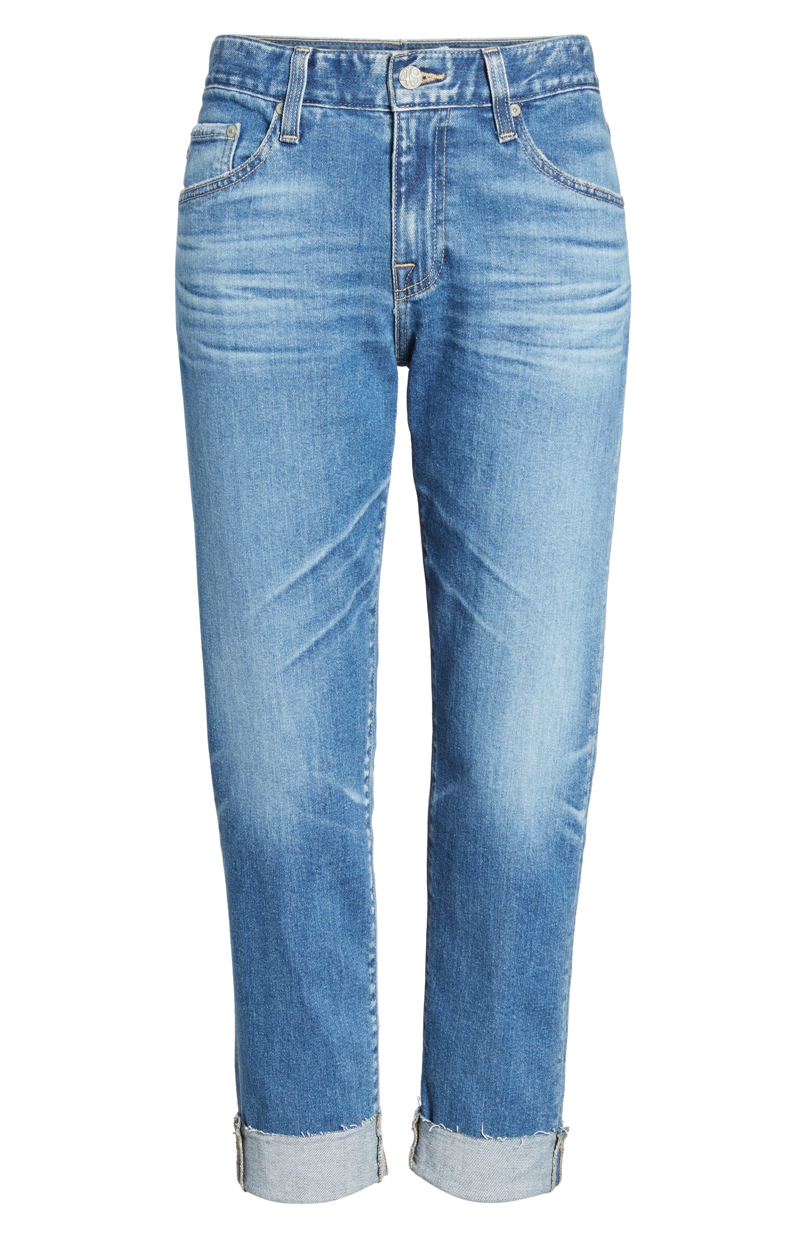 The Ex-Boyfriend Slim Jeans,                             Alternate thumbnail 7, color,                             14 Years Foxtail