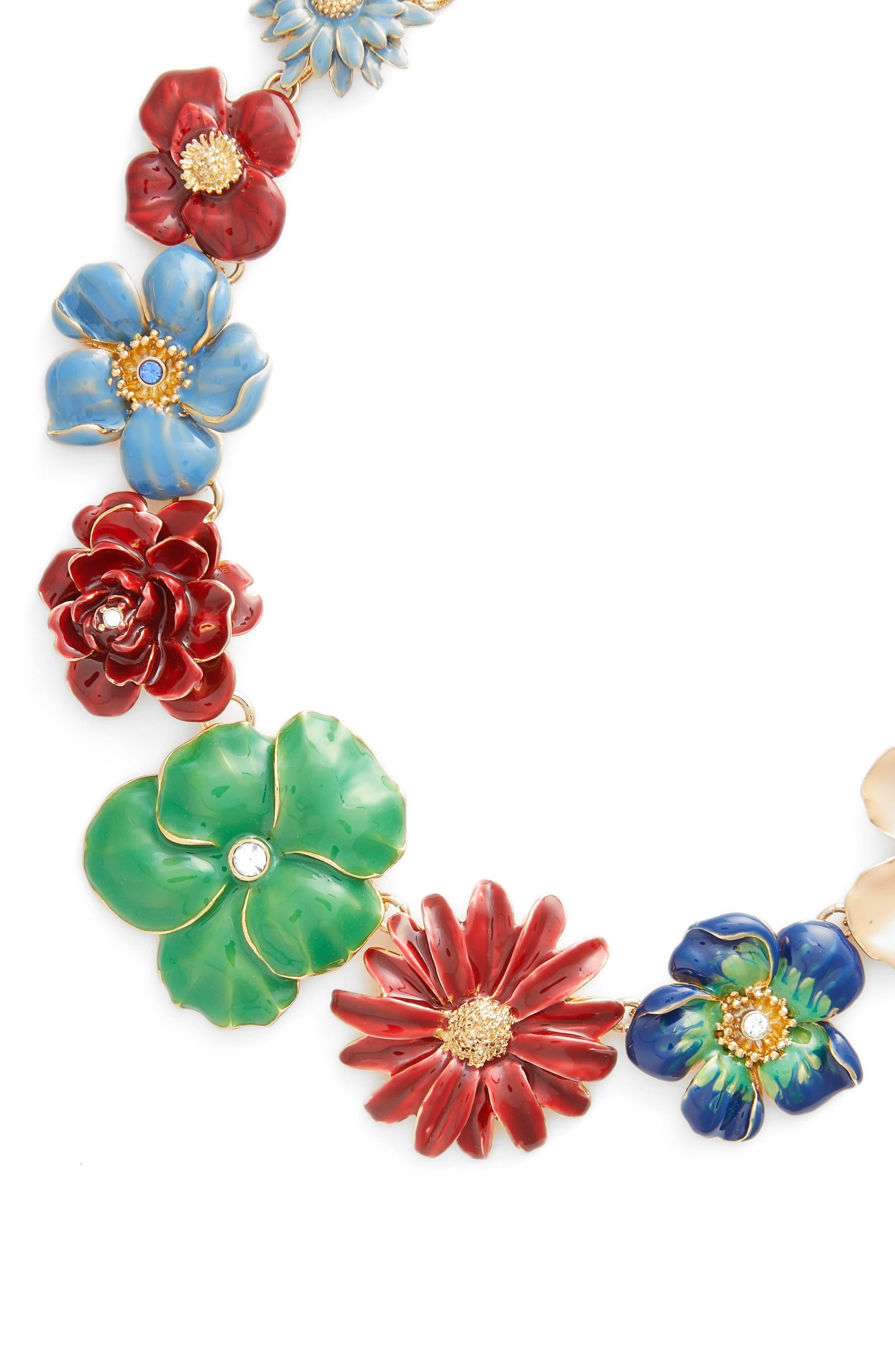 Garden Necklace,                             Alternate thumbnail 2, color,                             Multi