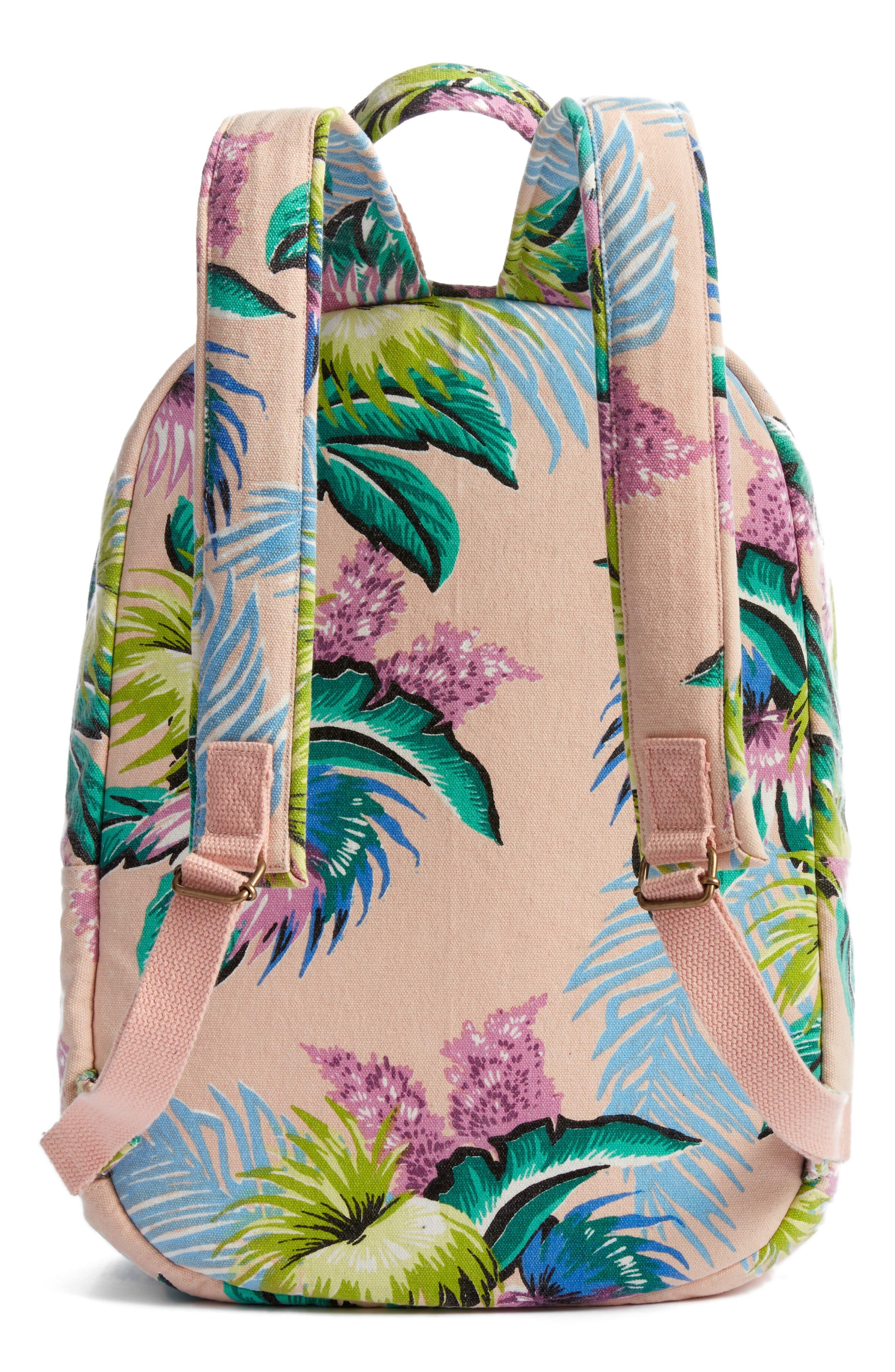 Ophelia Canvas Backpack,                             Alternate thumbnail 3, color,                             Vanilla