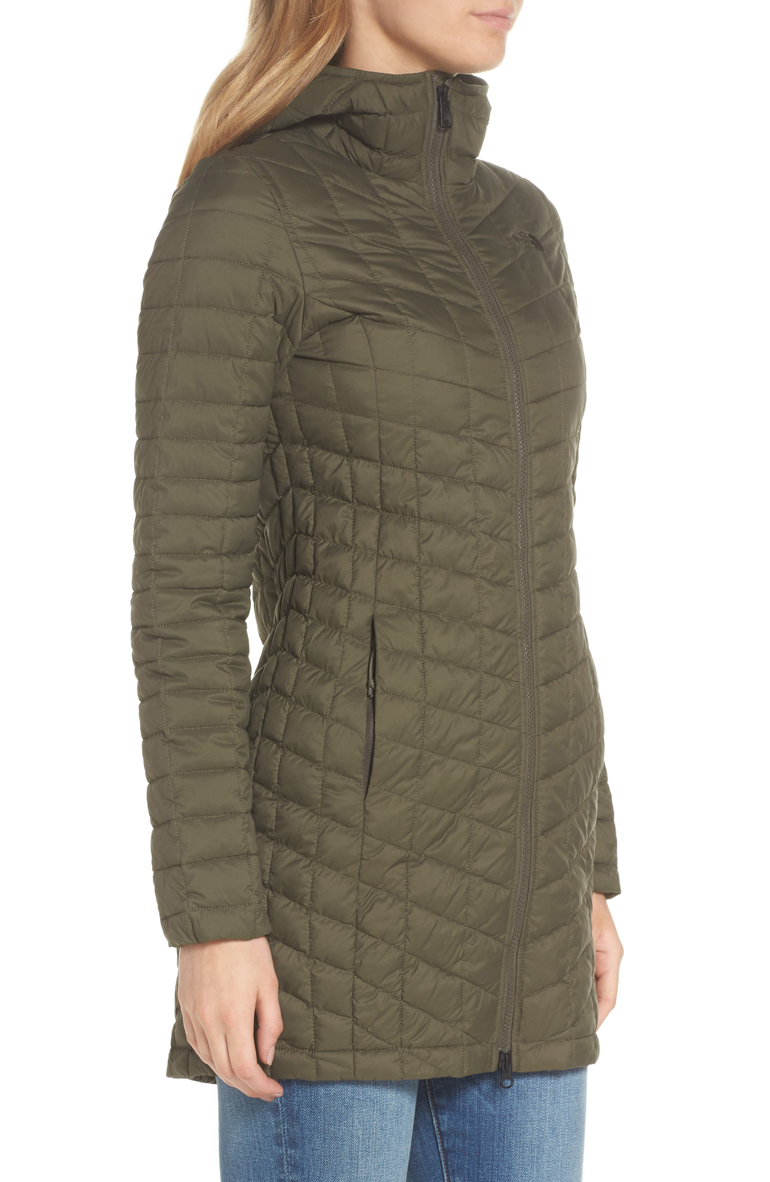ThermoBall<sup>™</sup> PrimaLoft<sup>®</sup> Hooded Parka,                             Alternate thumbnail 3, color,                             New Taupe Green Matte