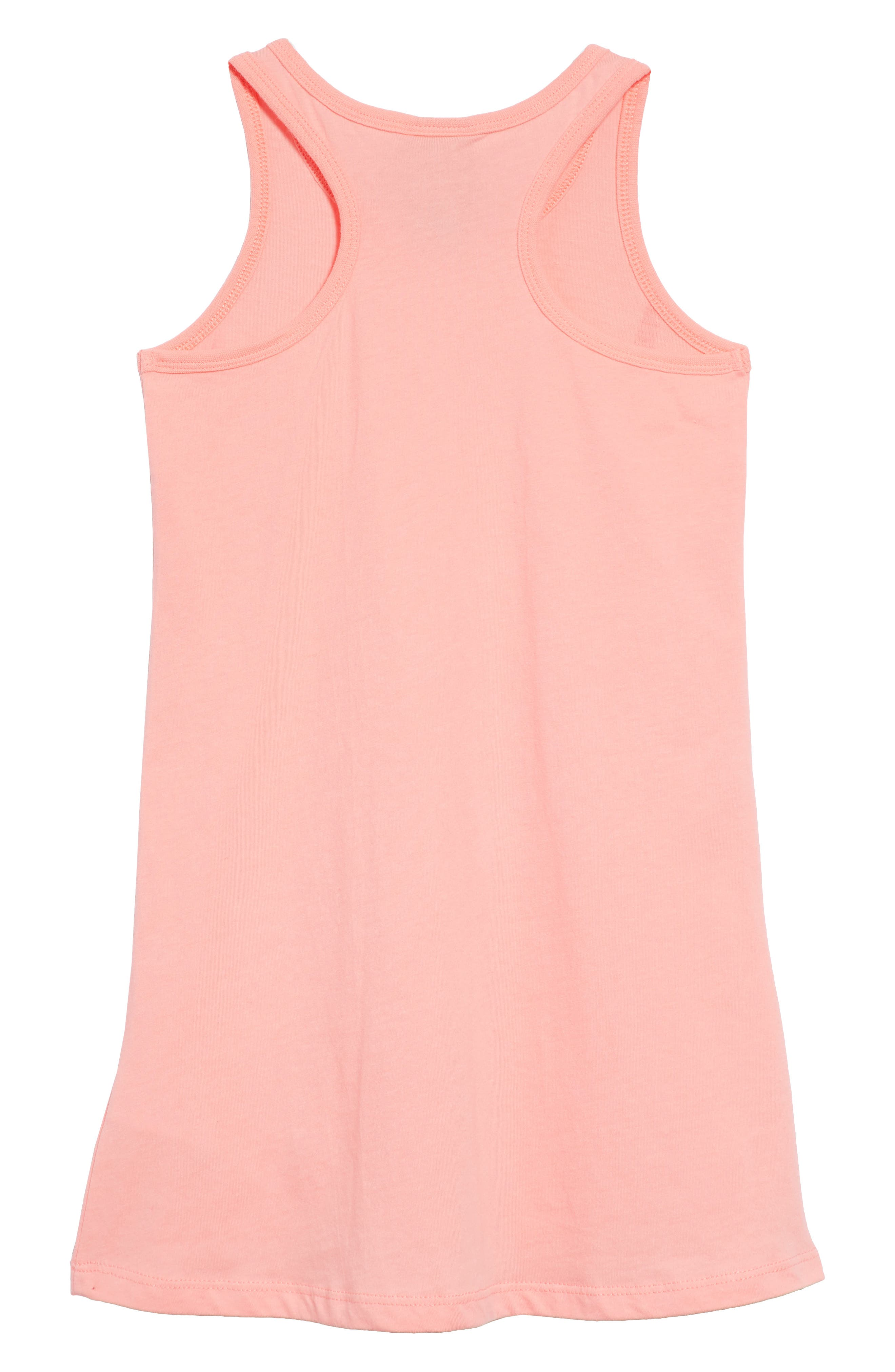 Swing Tank Dress,                             Alternate thumbnail 2, color,                             Bleached Coral