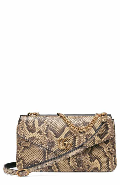 Gucci Thiara Genuine Python Leather Shoulder Bag