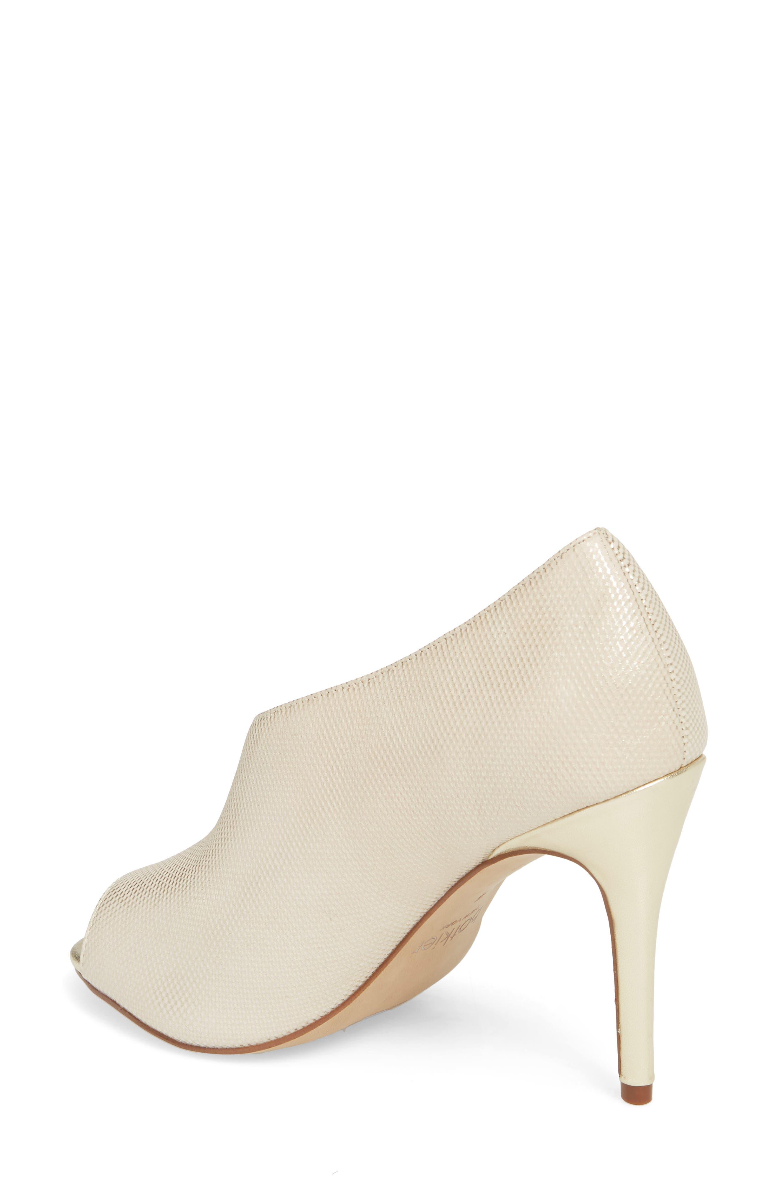 Adelia Asymmetrical Sandal,                             Alternate thumbnail 2, color,                             Gold Shimmer Fabric