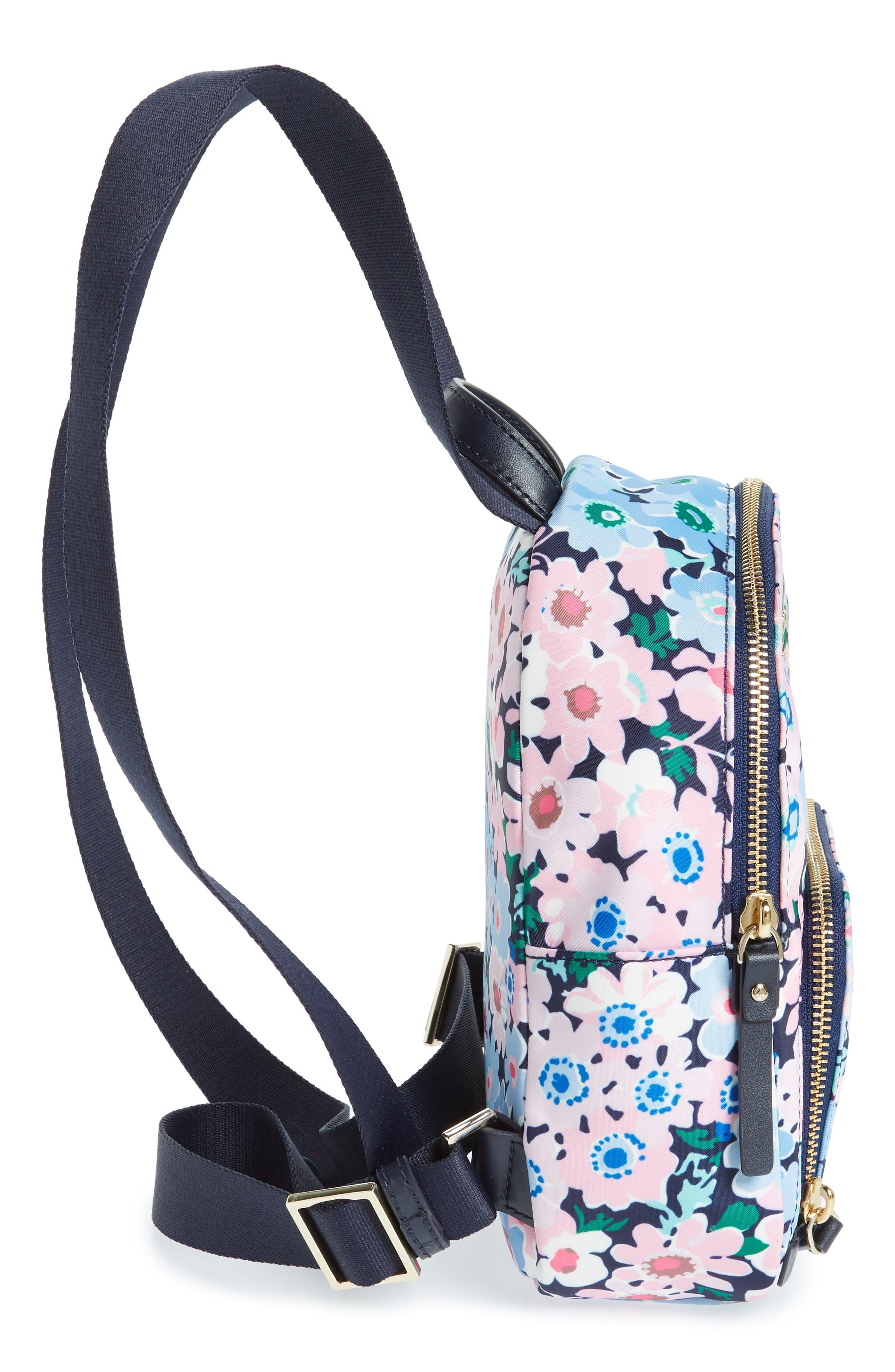 watson lane - daisy garden small hartley backpack,                             Alternate thumbnail 5, color,                             Blue Multi