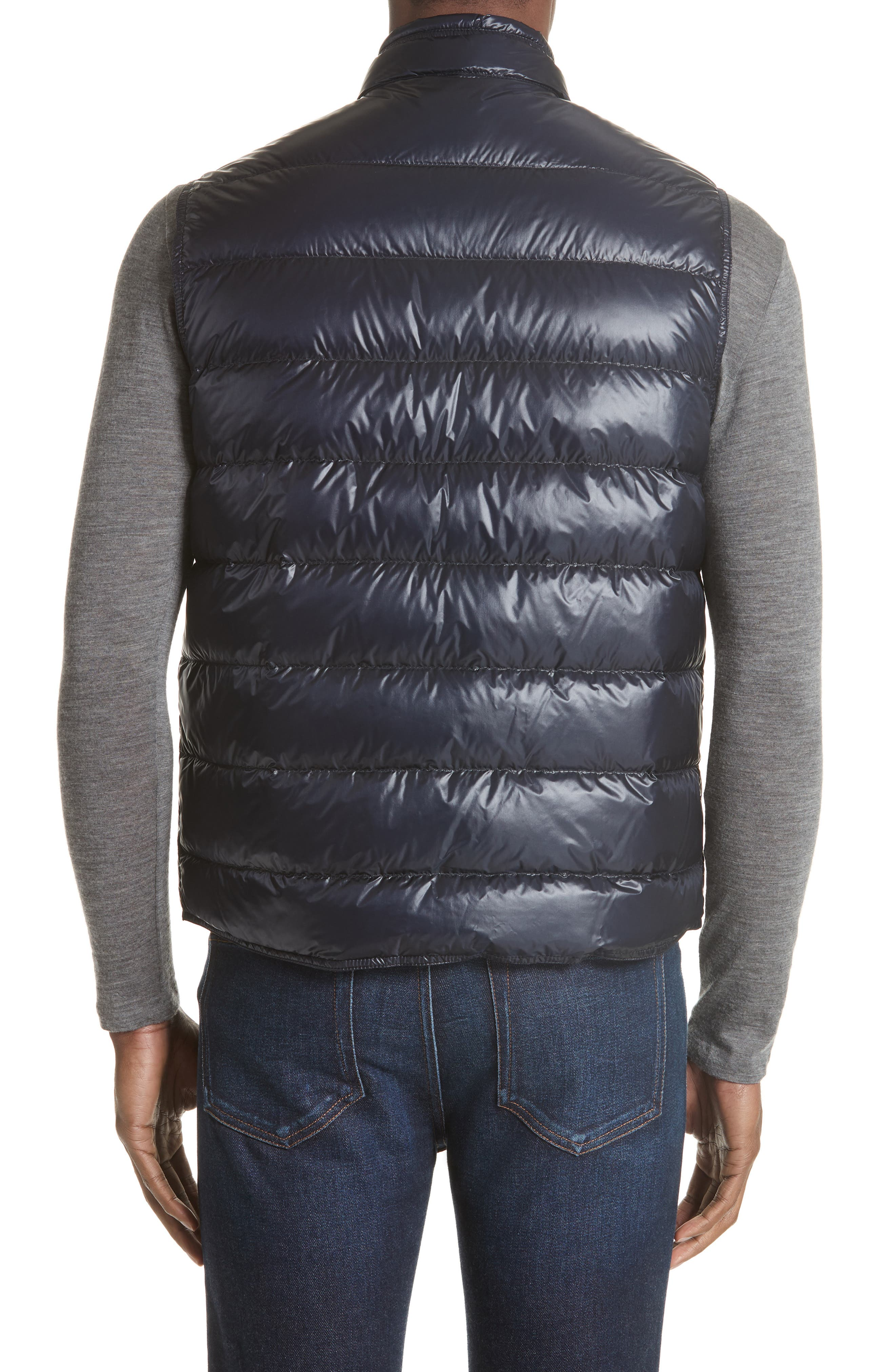 Gui Down Vest,                             Alternate thumbnail 2, color,                             Navy