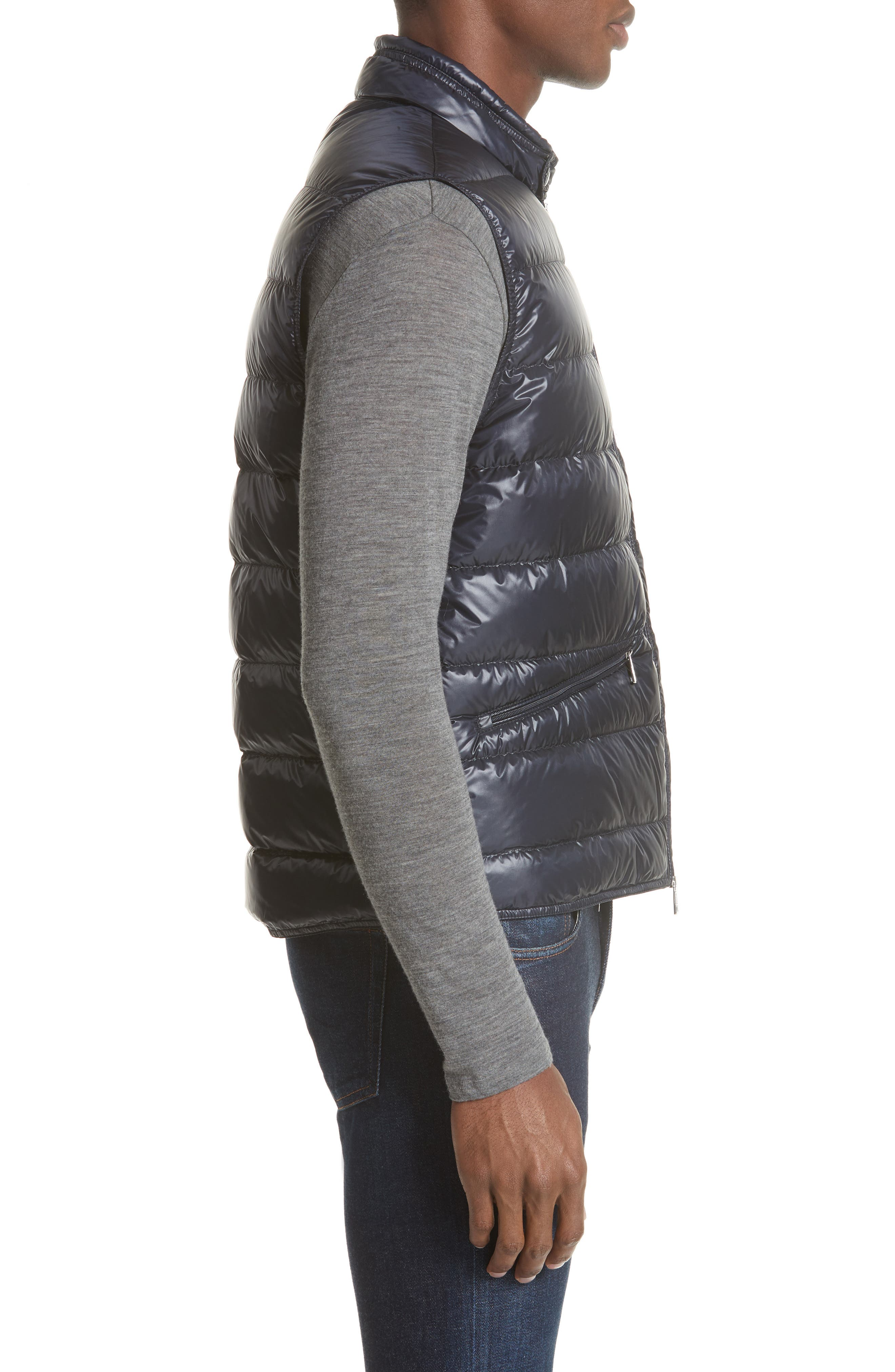 Gui Down Vest,                             Alternate thumbnail 3, color,                             Navy