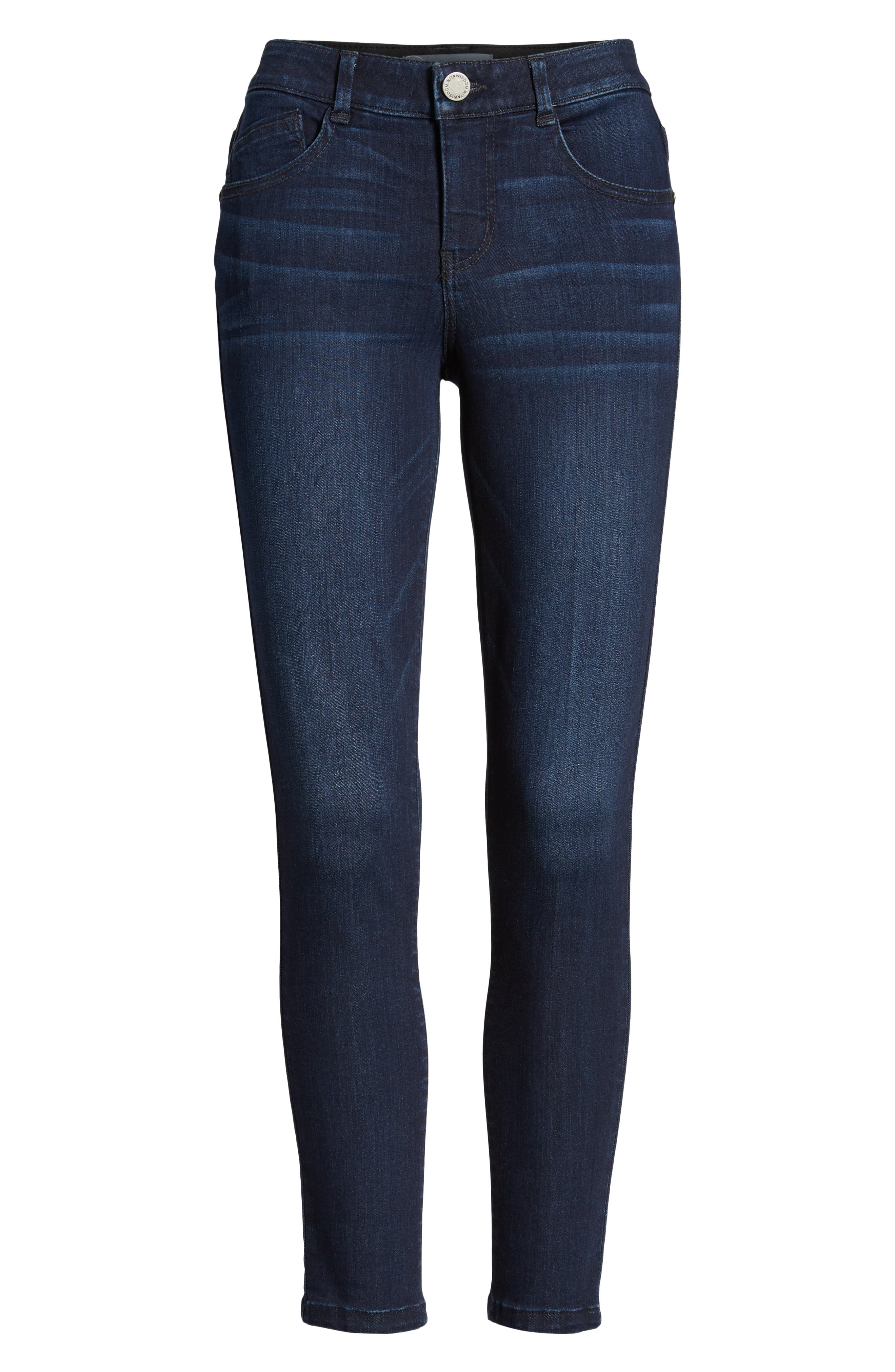 Ab-solution Skinny Jeans,                             Alternate thumbnail 7, color,                             In- Indigo