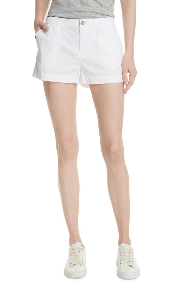 Cotton Poplin Shorts