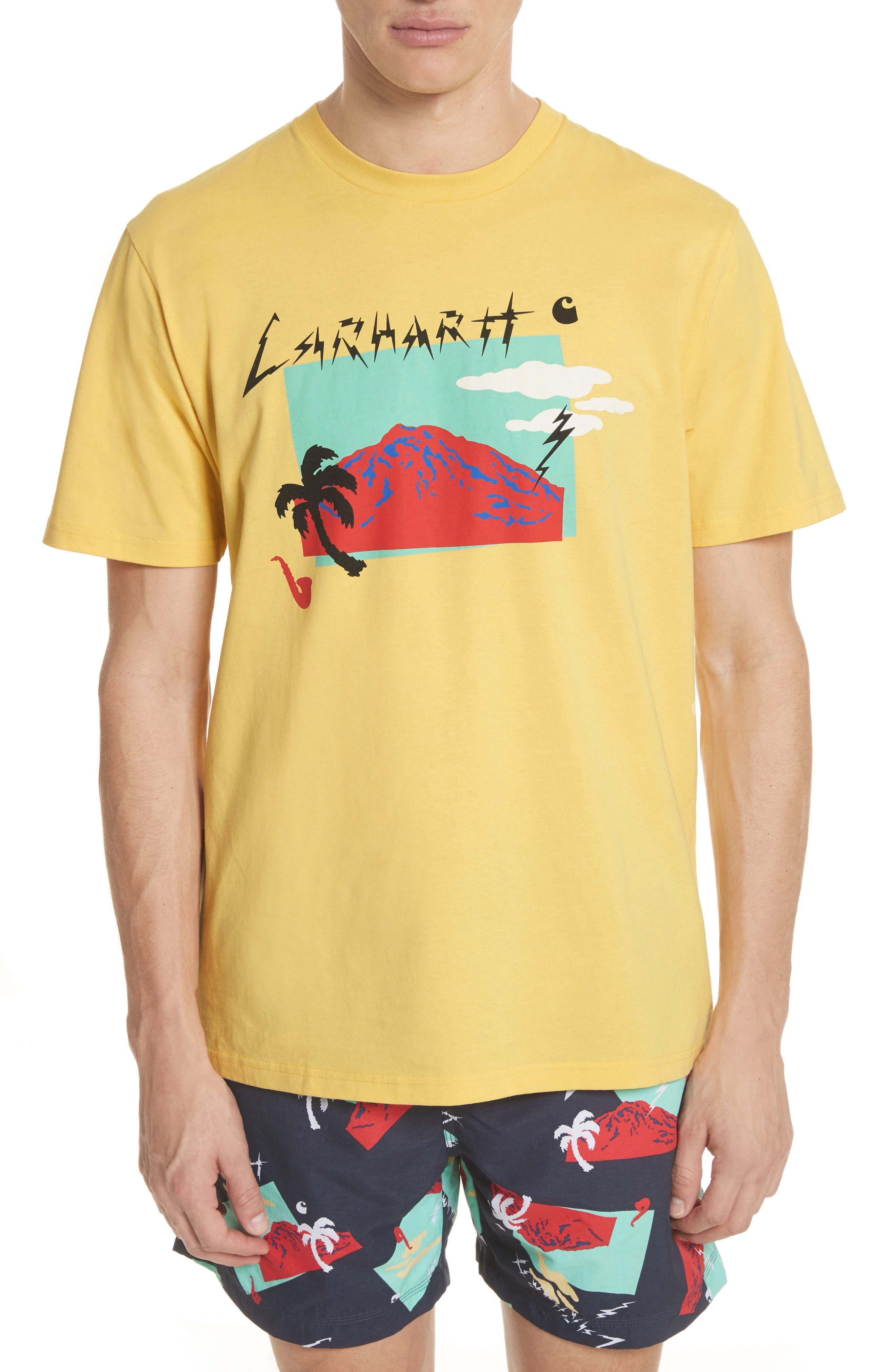 Anderson T-Shirt,                             Main thumbnail 1, color,                             Citrine
