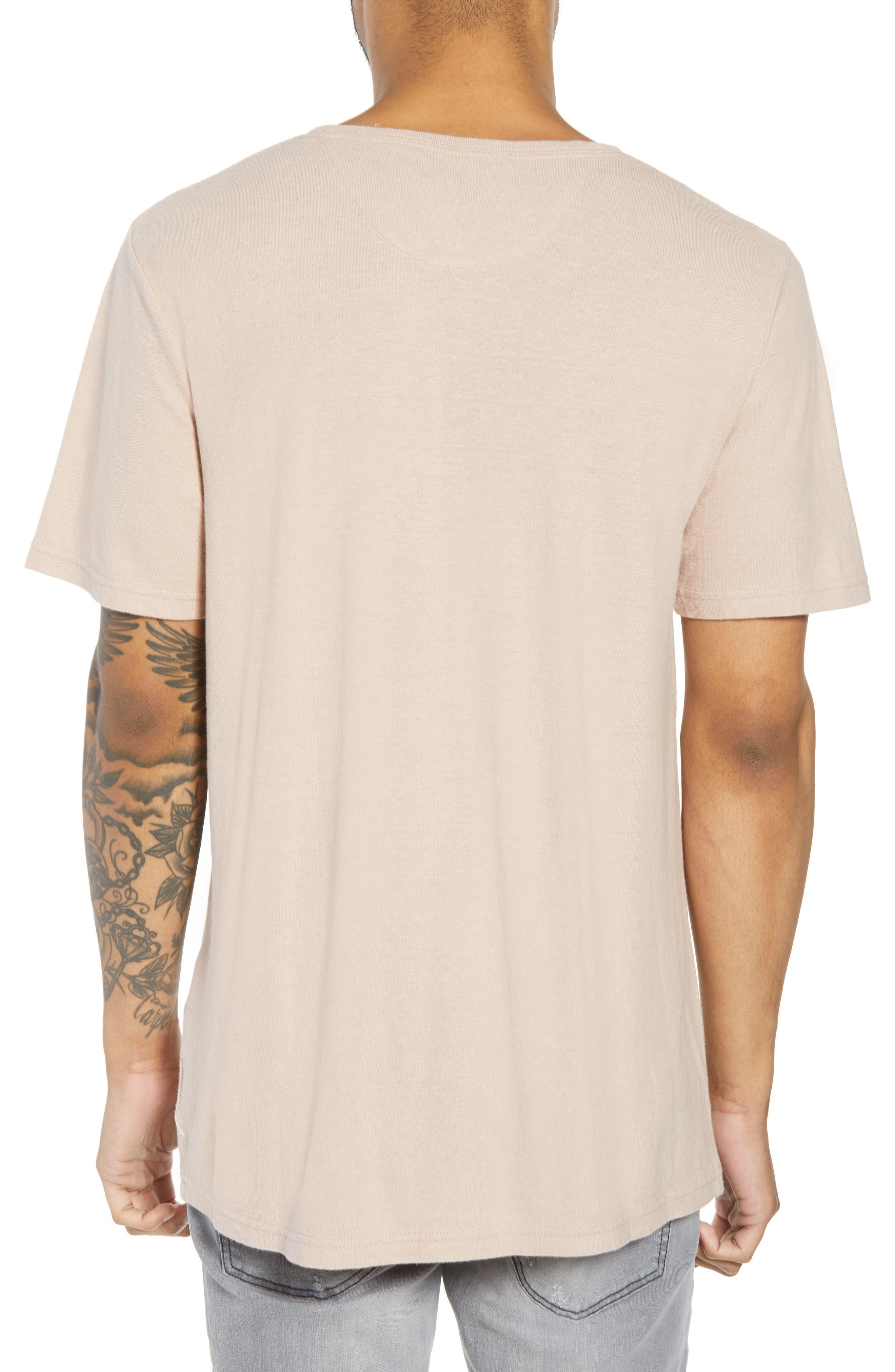 Collett Gauze T-Shirt,                             Alternate thumbnail 2, color,                             Dusty Rose