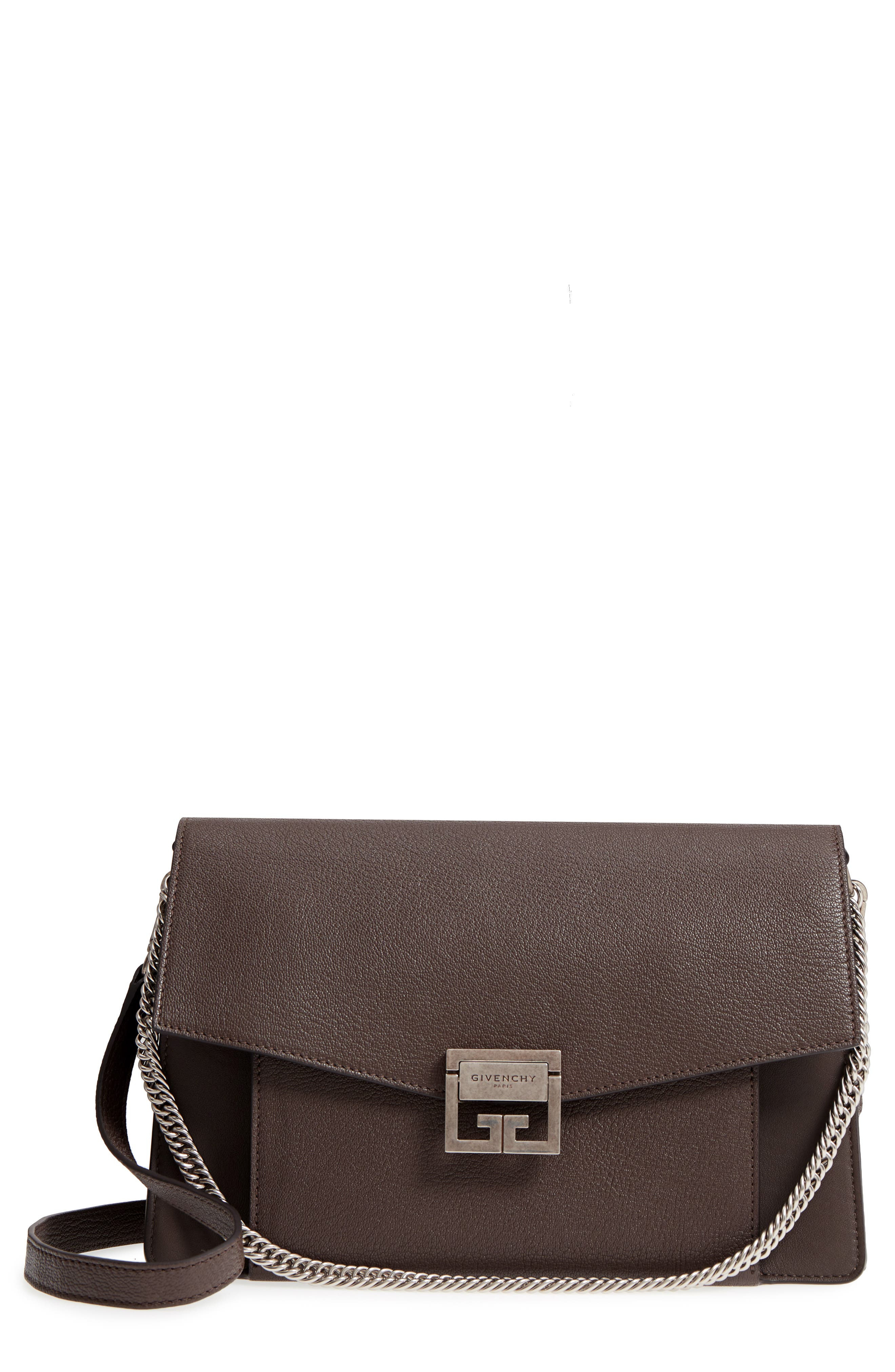 Givenchy GV3 Goatskin Leather Shoulder Bag