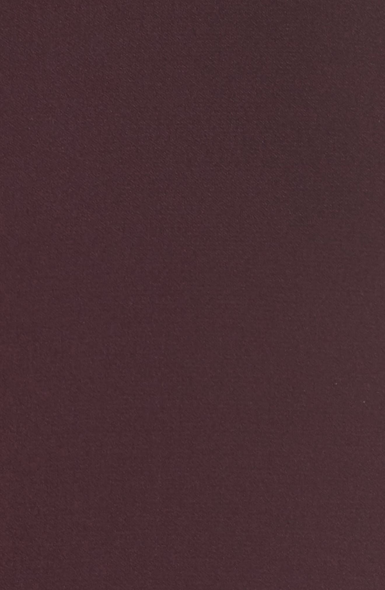 V-Back Shift Dress,                             Alternate thumbnail 7, color,                             Burgundy Stem