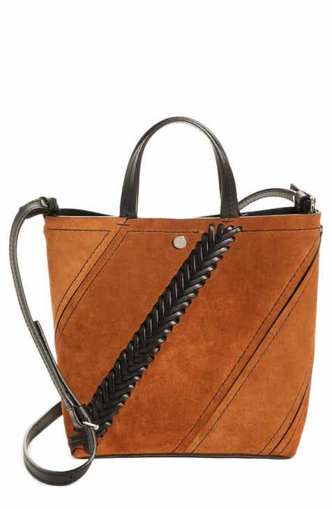 Proenza Schouler Small Hex Whipsch Suede Bucket Bag