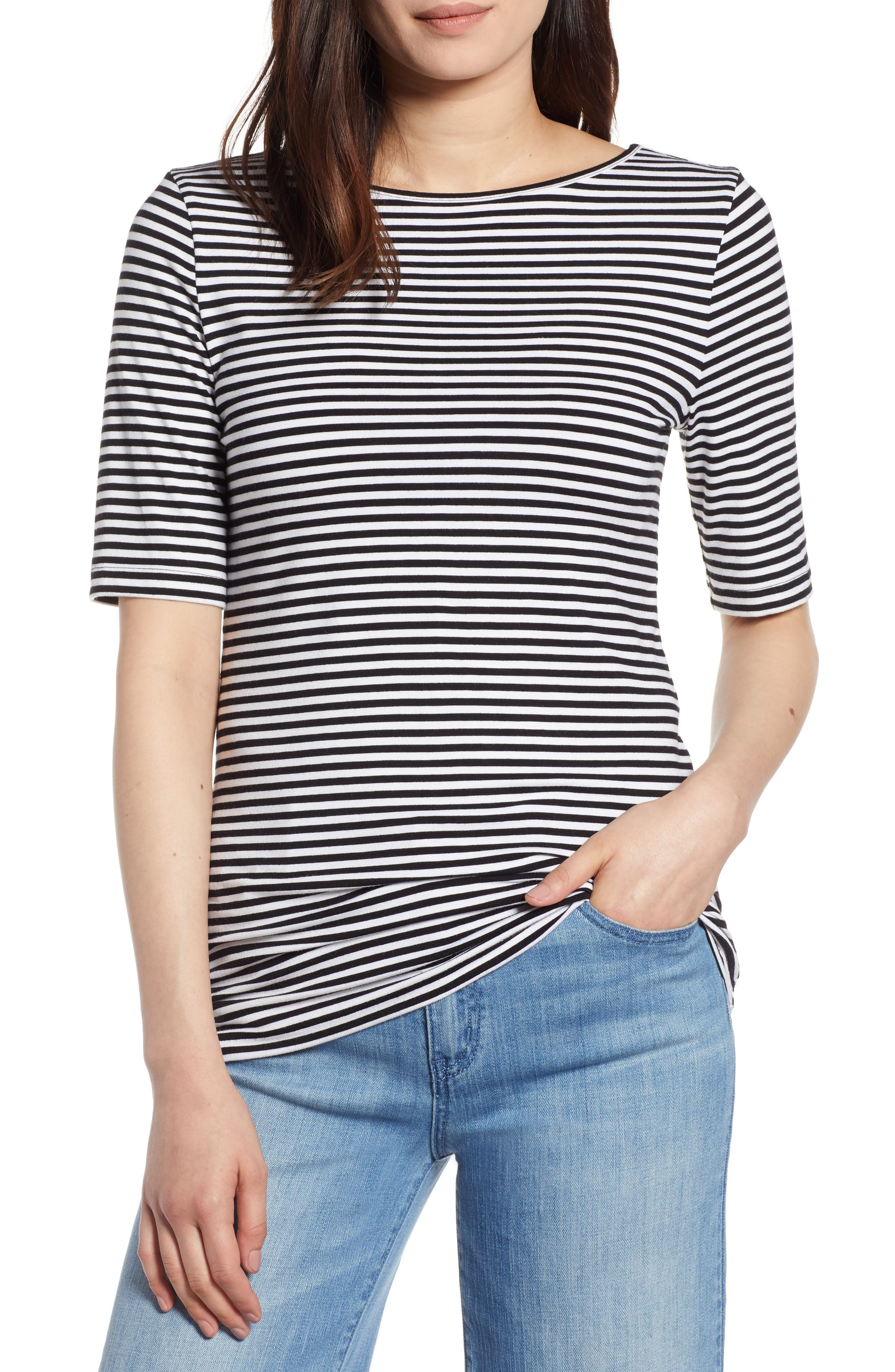 Top for Women On Sale, Navy Blue, Cotton, 2017, 10 12 8 Fay