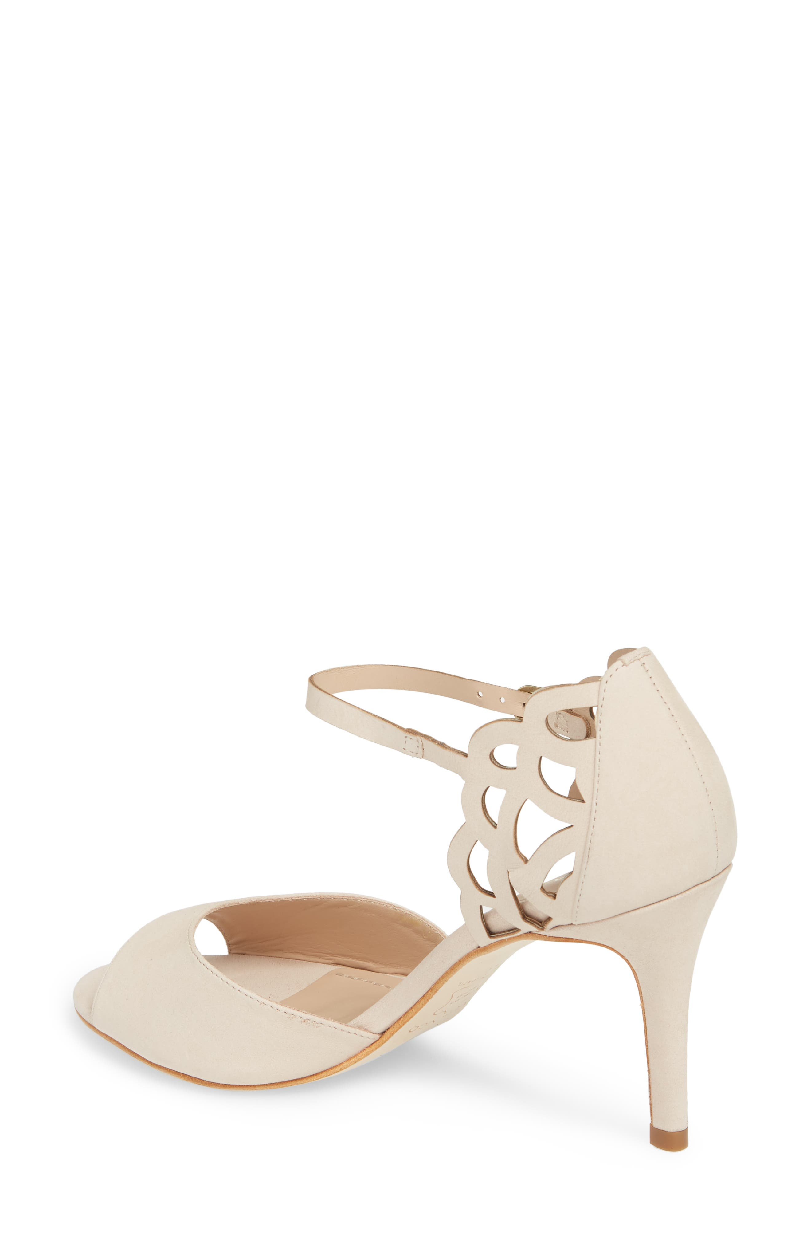 Adalie Sandal,                             Alternate thumbnail 2, color,                             Nude Leather