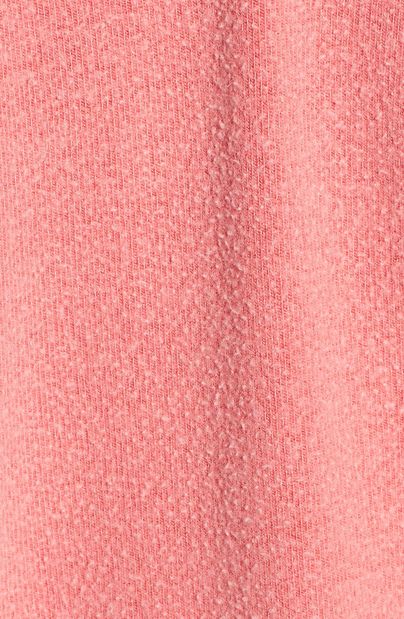Caliente Junior Sweatshirt,                             Alternate thumbnail 5, color,                             Pigment Hot Lipstick