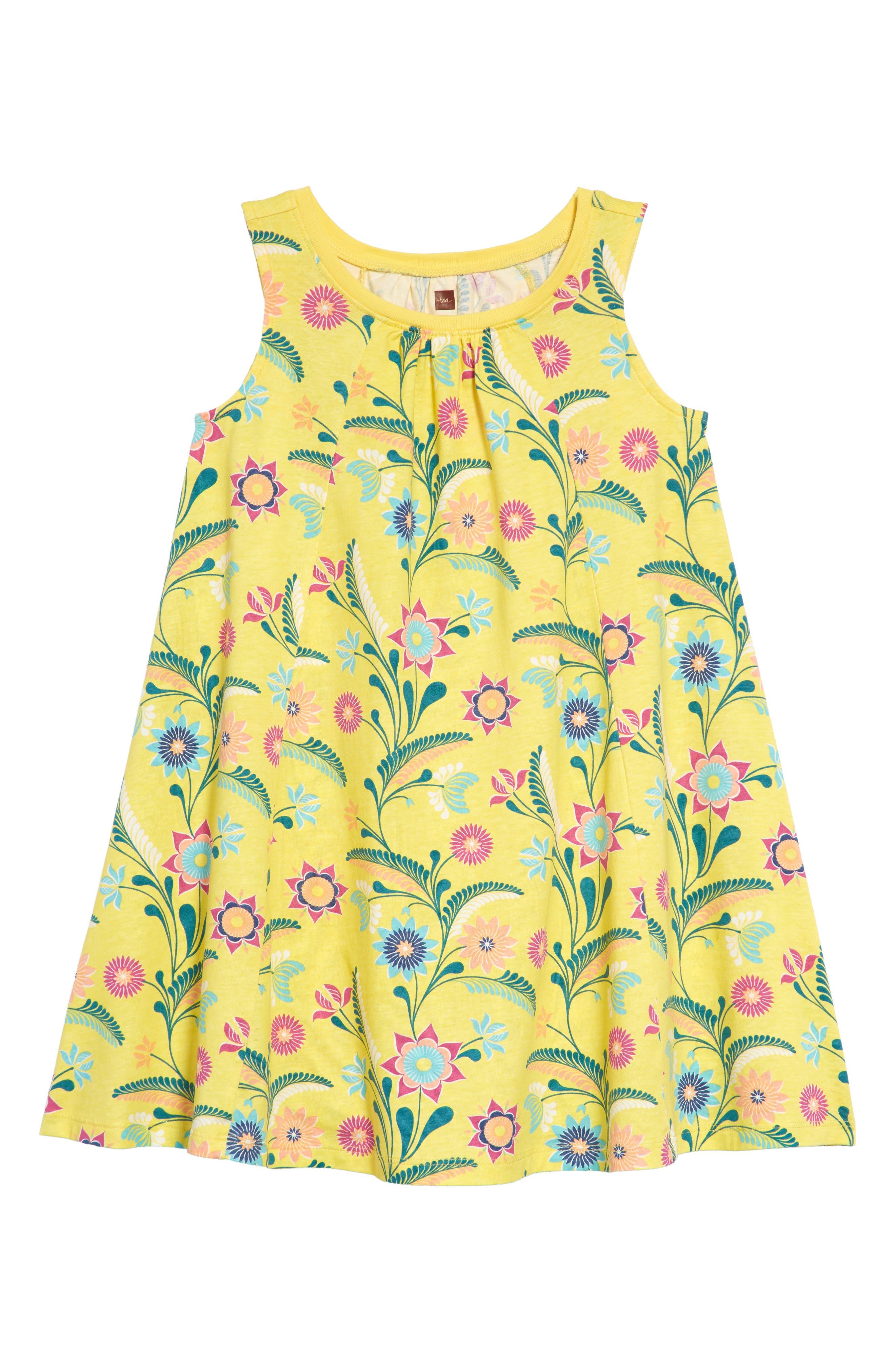 Tea Collection Trapeze Dress (Toddler Girls, Little Girls & Big Girls)