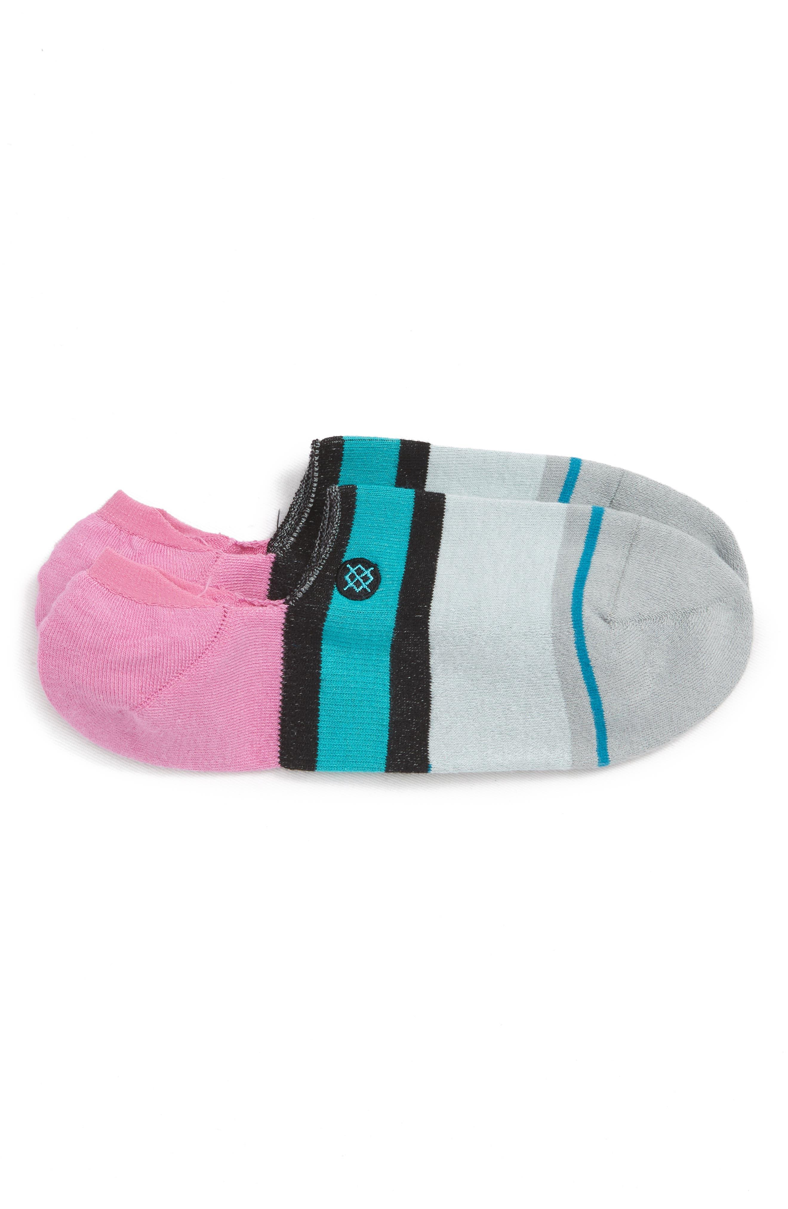 Abbot No-Show Socks,                         Main,                         color, Black