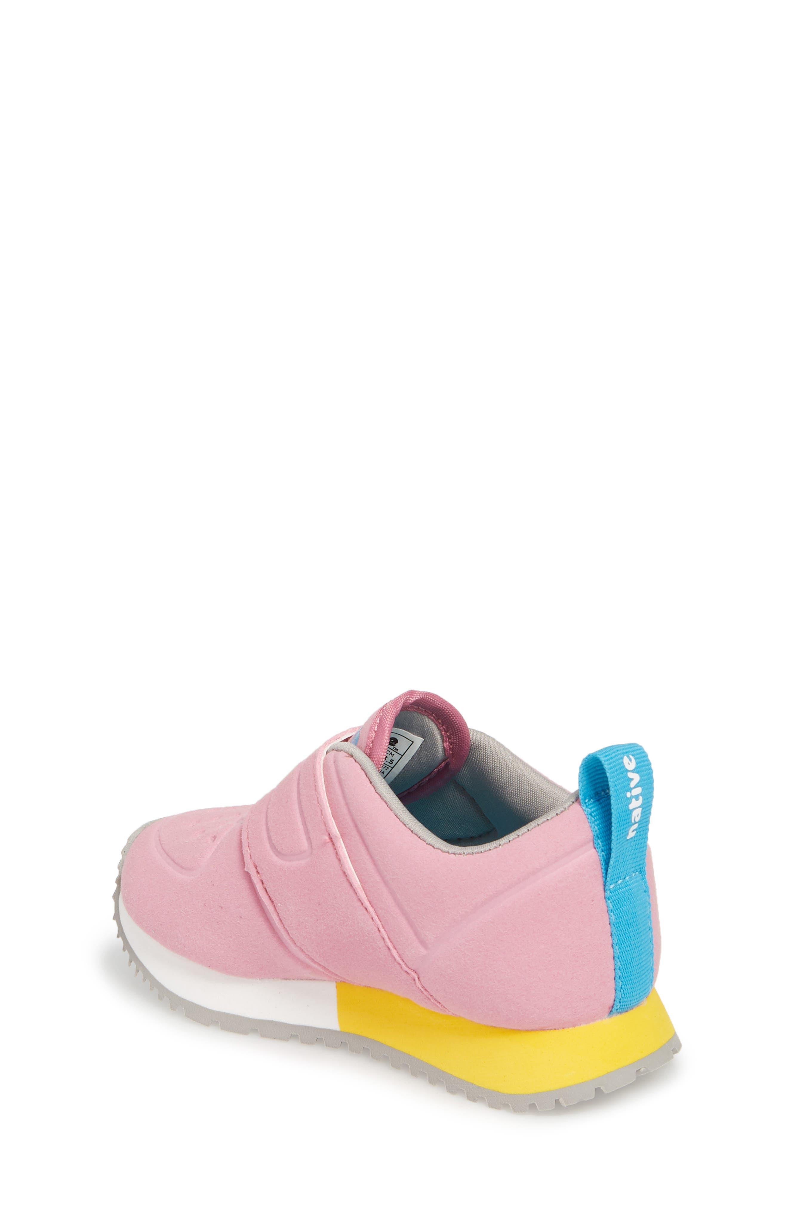 Native Cornell Perforated Sneaker,                             Alternate thumbnail 2, color,                             Malibu Pink/ White/ Blue