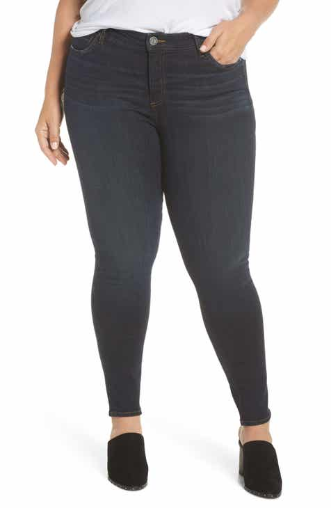 KUT from the Kloth Diana Skinny Jeans (Mischievous) (Plus Size)