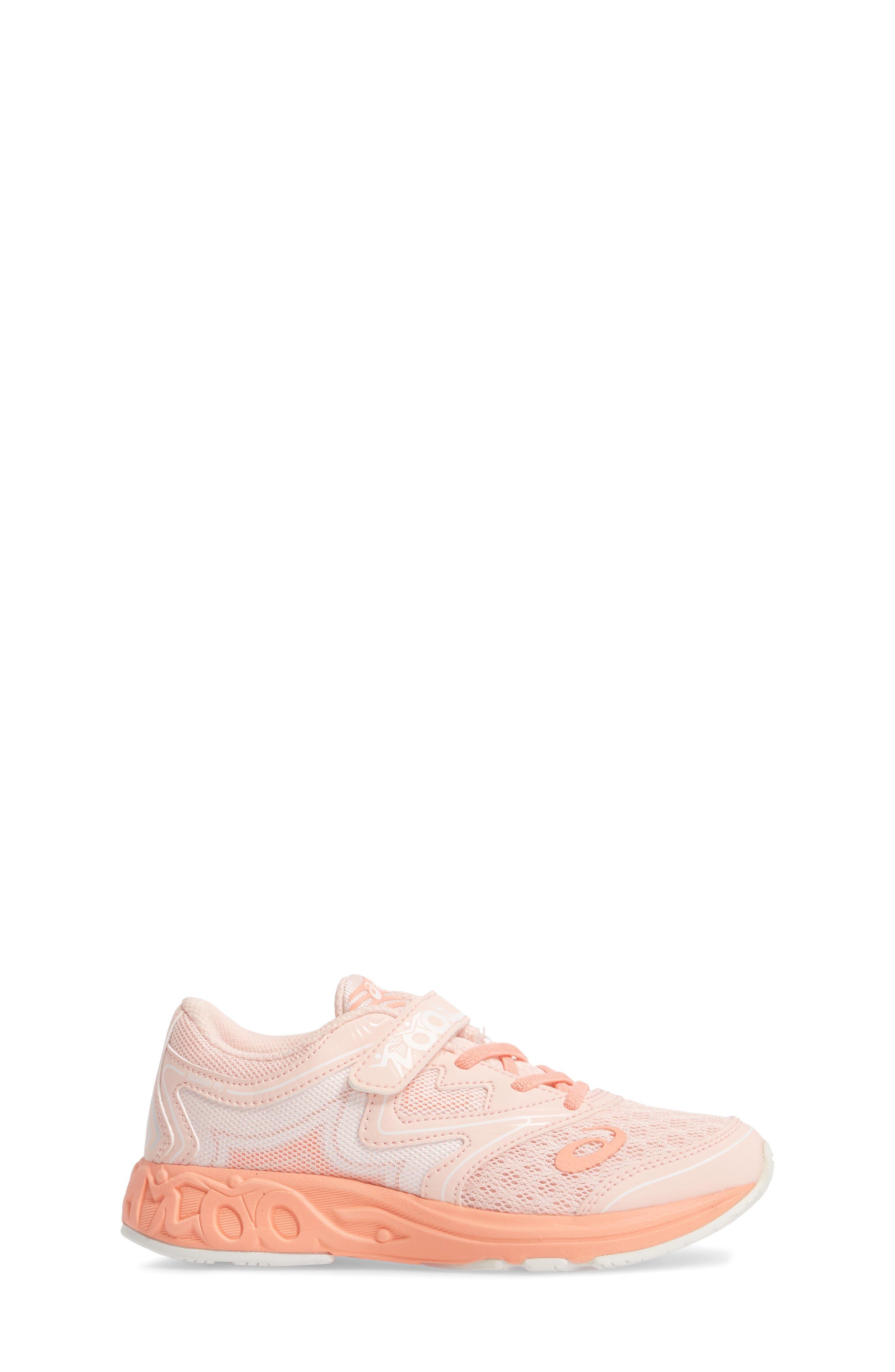 Noosa PS Sneaker,                             Alternate thumbnail 3, color,                             Seashell Pink/ Begonia/ White