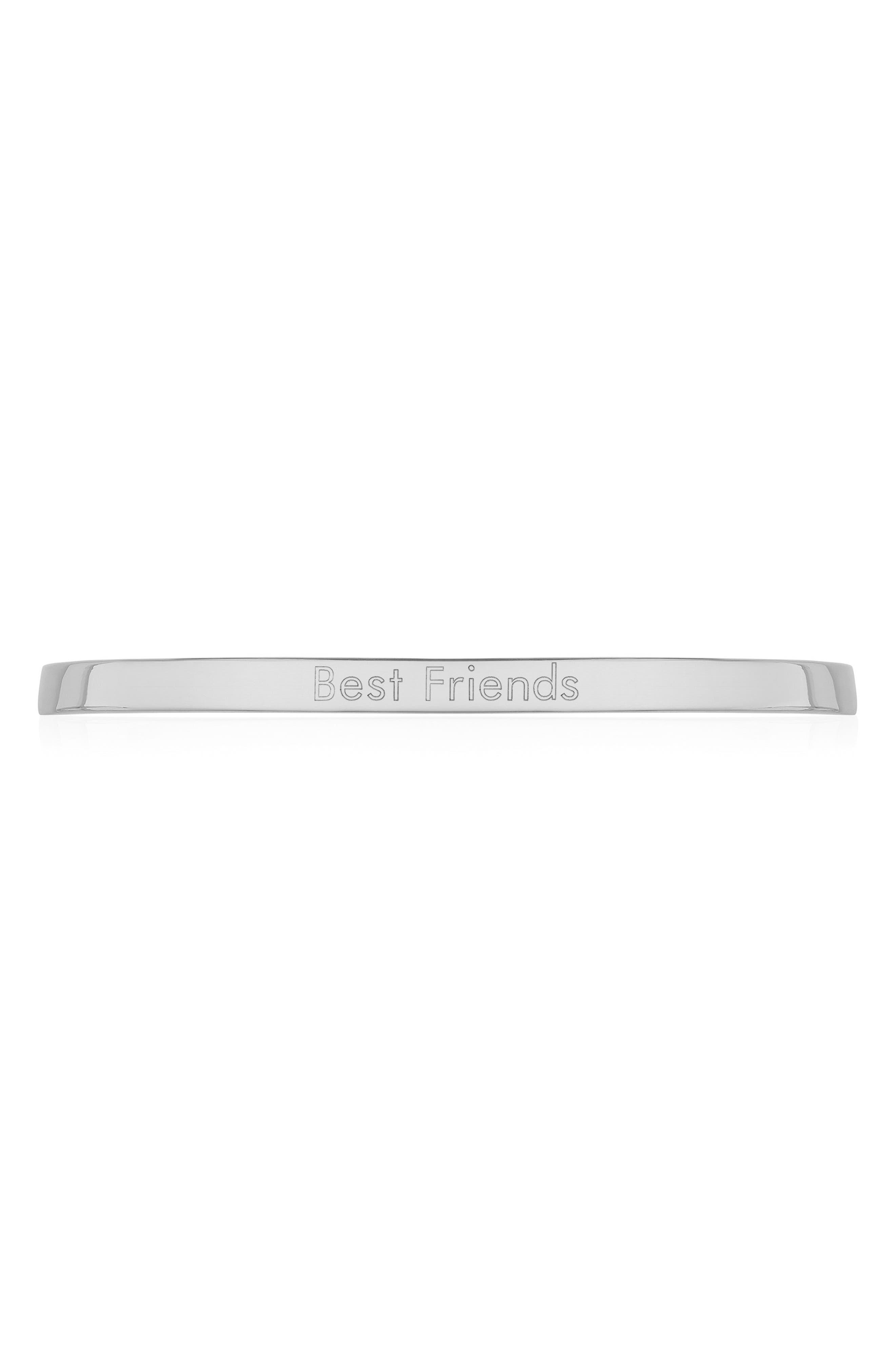 EngravableFiji Chain Bracelet,                             Alternate thumbnail 3, color,                             Silver