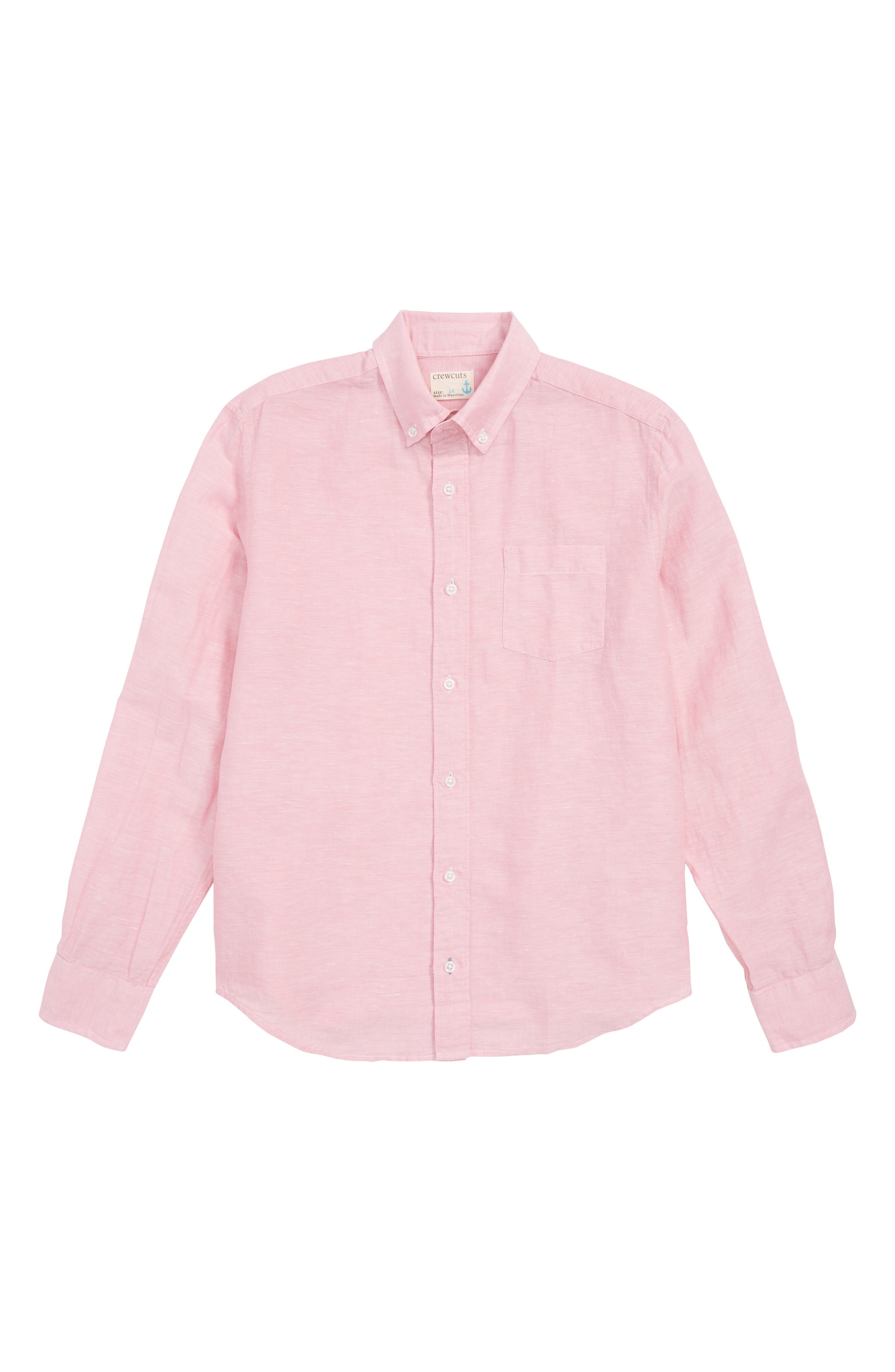 crewcuts by J.Crew Linen & Cotton Shirt