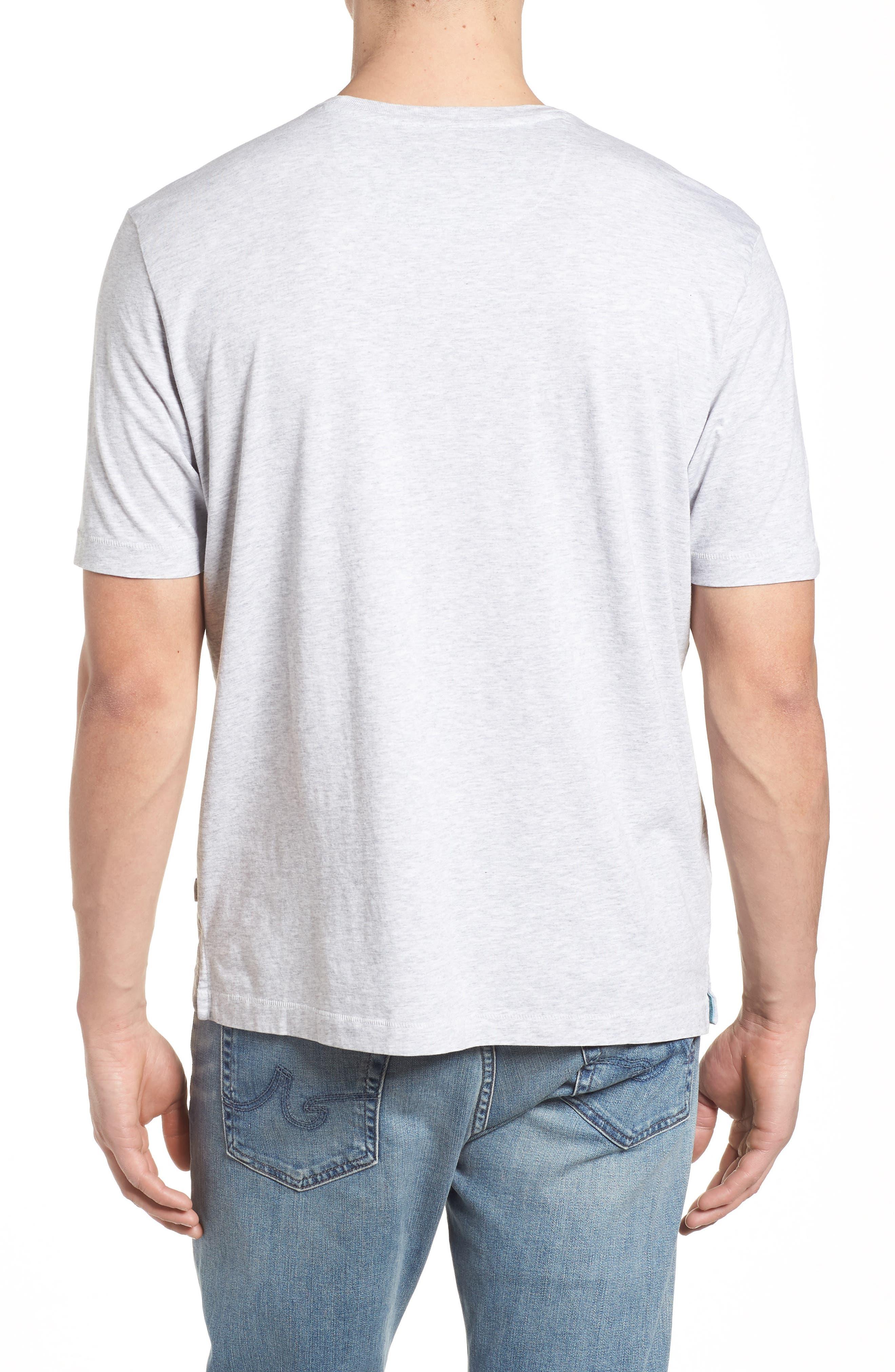 New Bali Skyline T-Shirt,                             Alternate thumbnail 2, color,                             Zinc Gray Heather