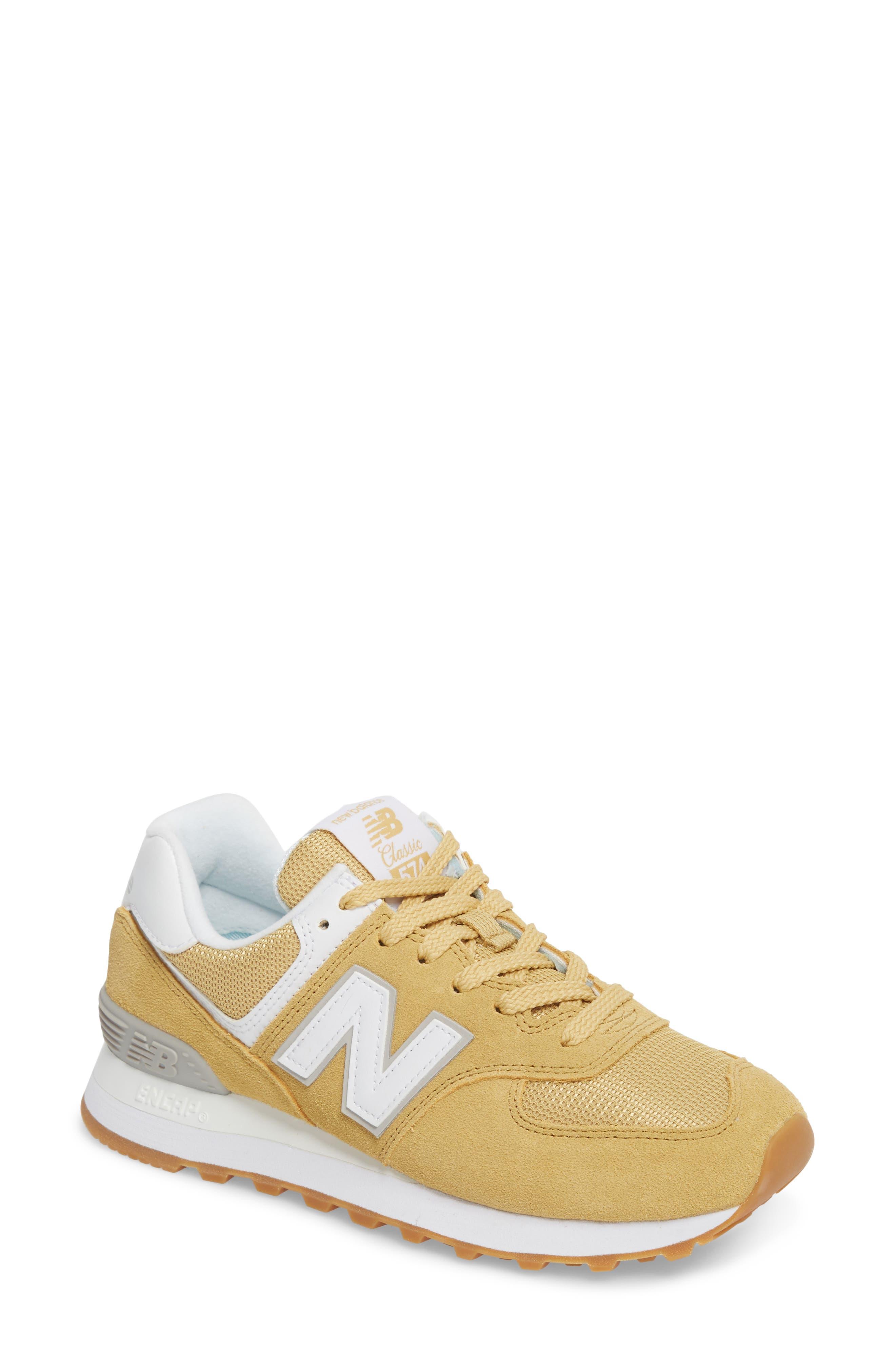 New Balance 574 Beach Chambray Sneaker (Women)
