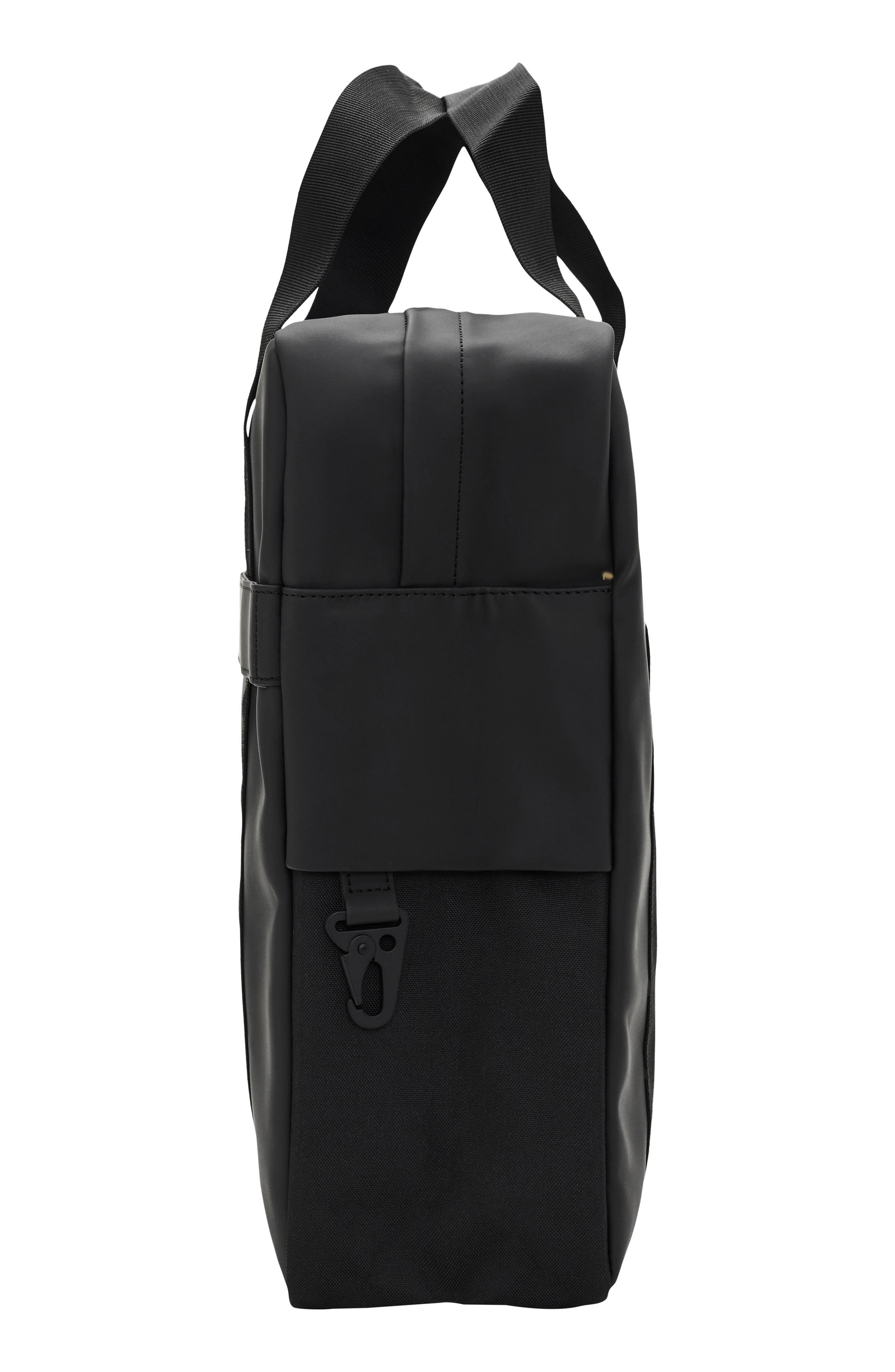 Waterproof Utility Tote Bag,                             Alternate thumbnail 2, color,                             Black