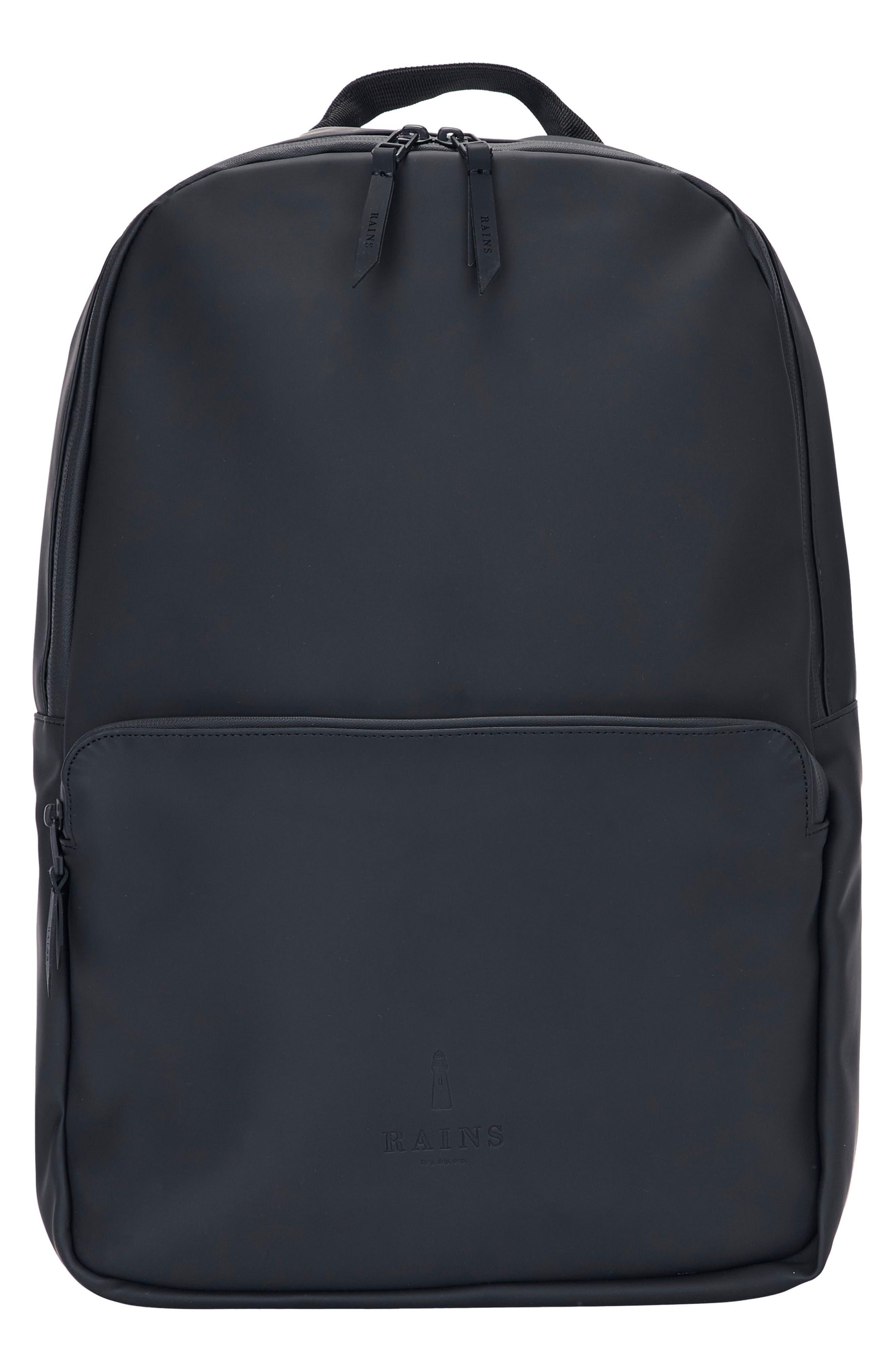 New Latest Rains Black Field Bag Backpack for Men Online Sale Online Sale
