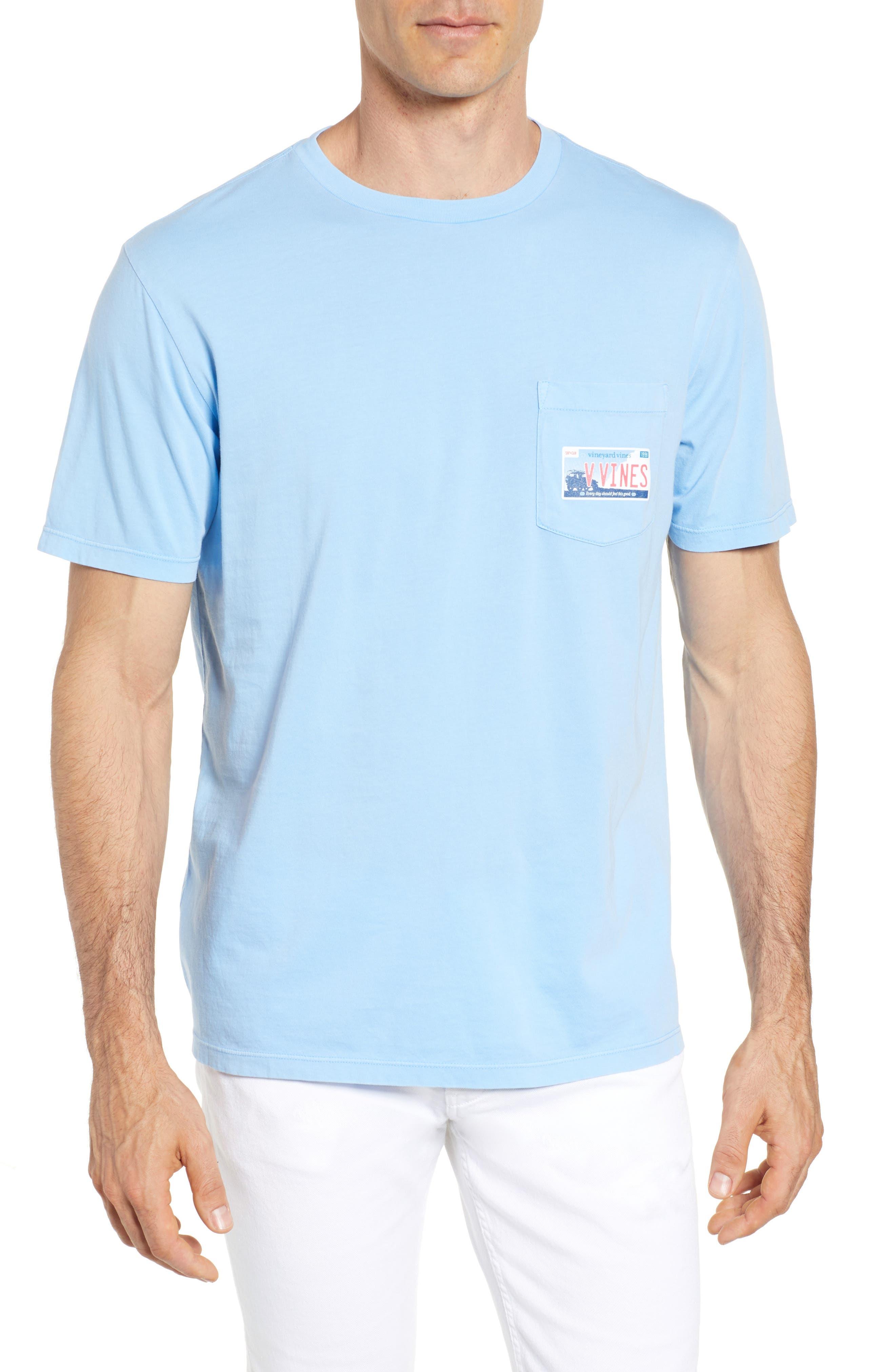 Tie Guys Plate Regular Fit Crewneck T-Shirt,                         Main,                         color, Jake Blue