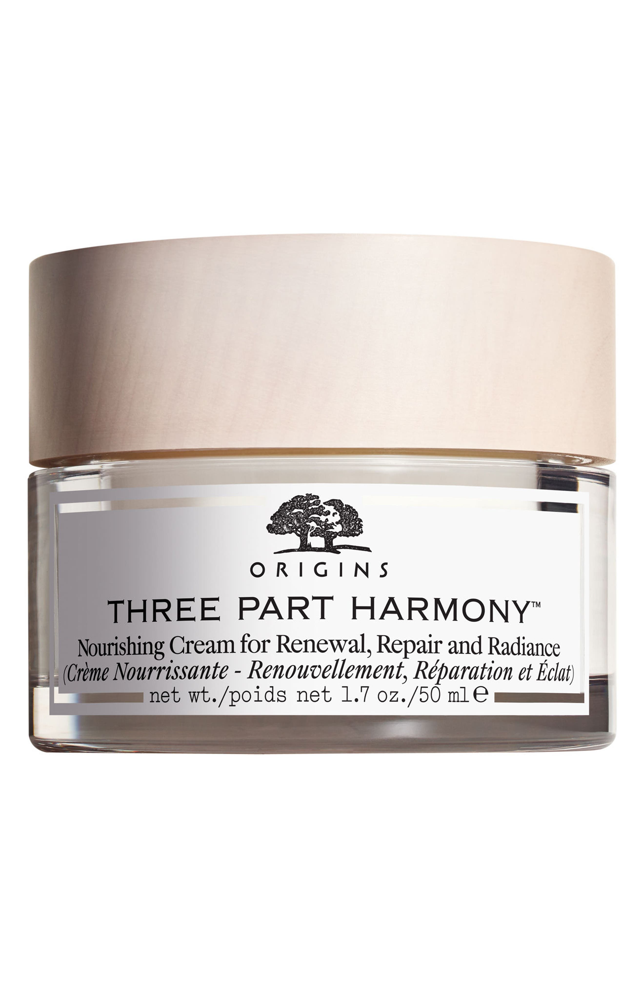 Three-Part Harmony<sup>™</sup> Nourishing Cream for Renewal, Repair & Radiance,                         Main,                         color, No Color
