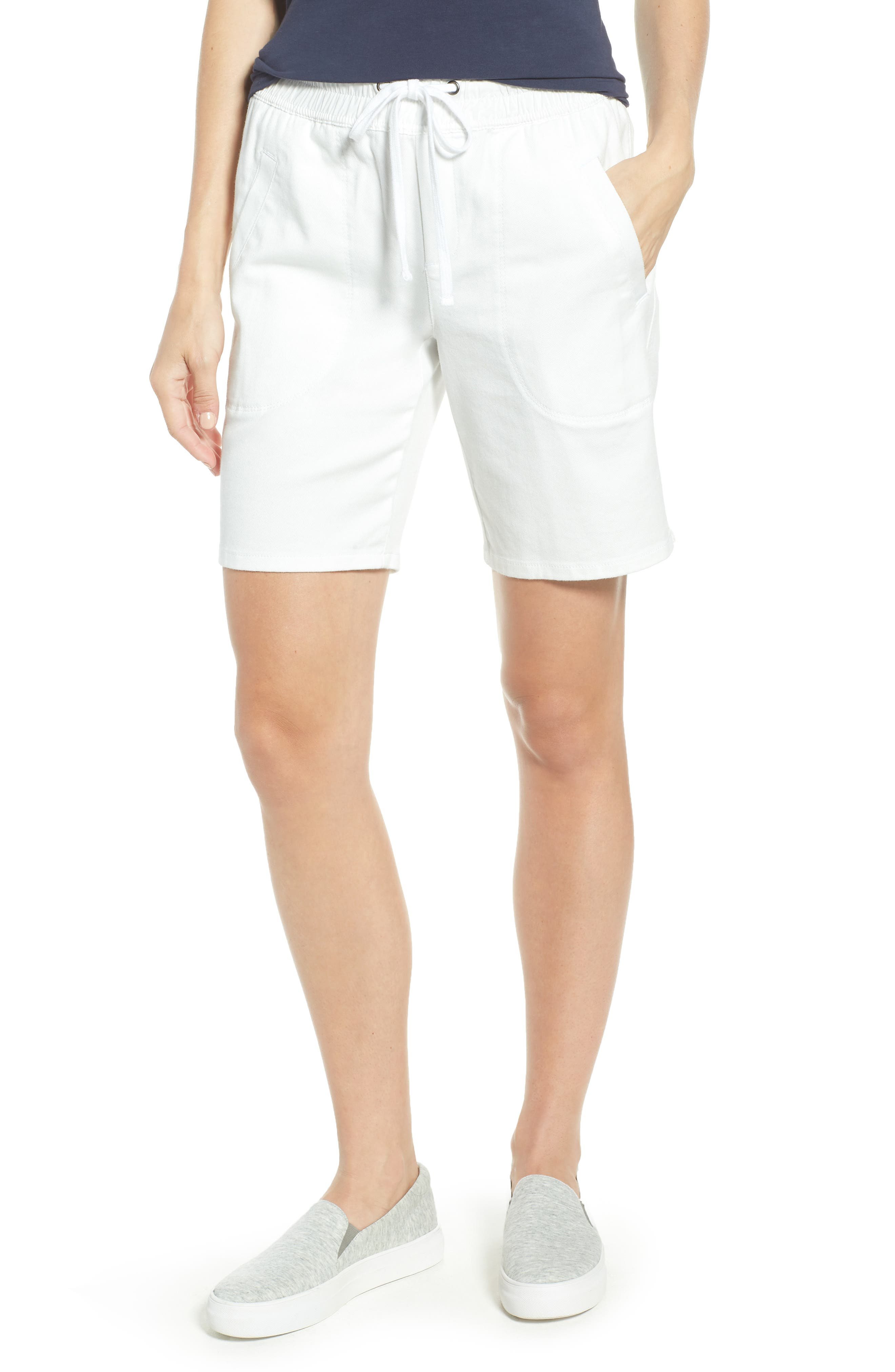 Open Road Drawstring Shorts,                         Main,                         color, Paper White