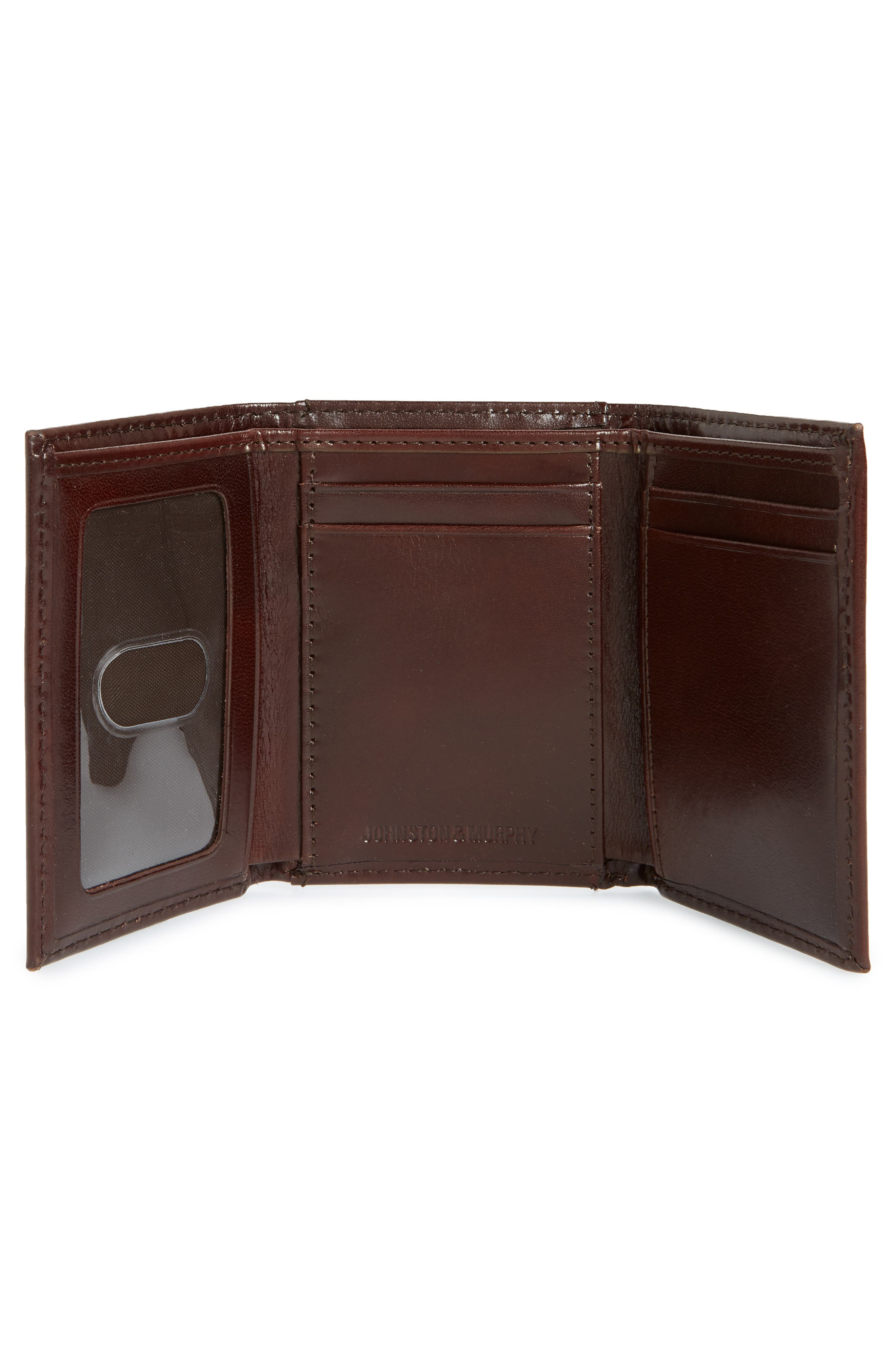 Alternate Image 2  - Johnston & Murphy Leather Wallet