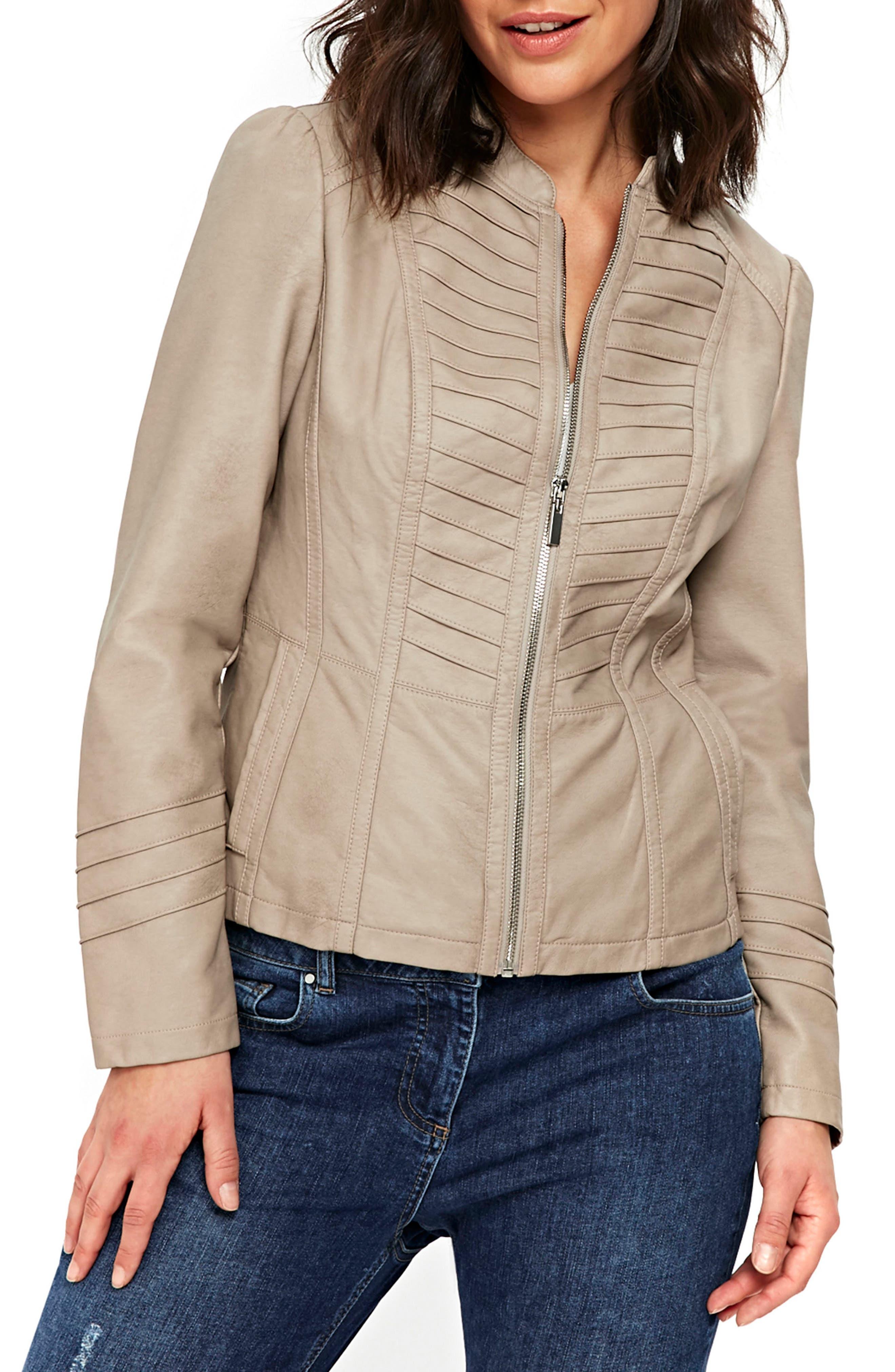 Wallis Khloe Gothic Faux Leather Jacket