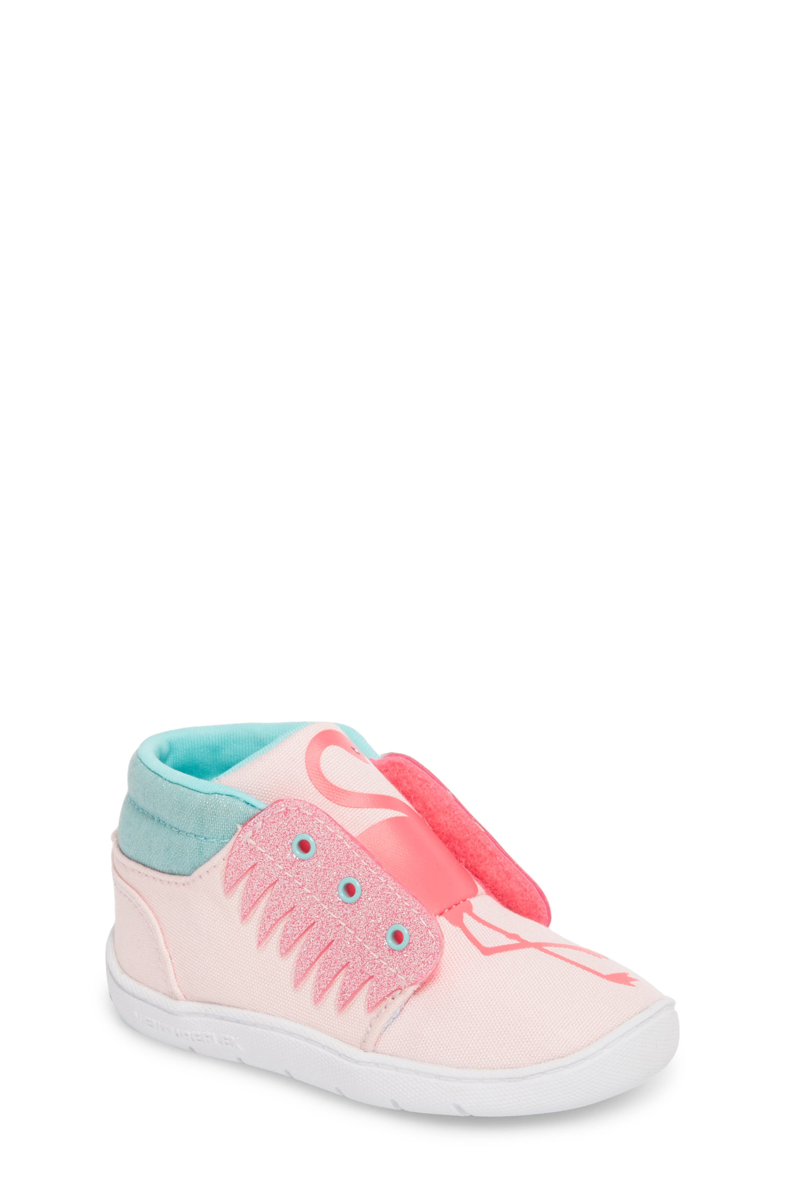 Reebok Ventureflex High Top Critter Sneaker (Baby, Walker & Toddler)