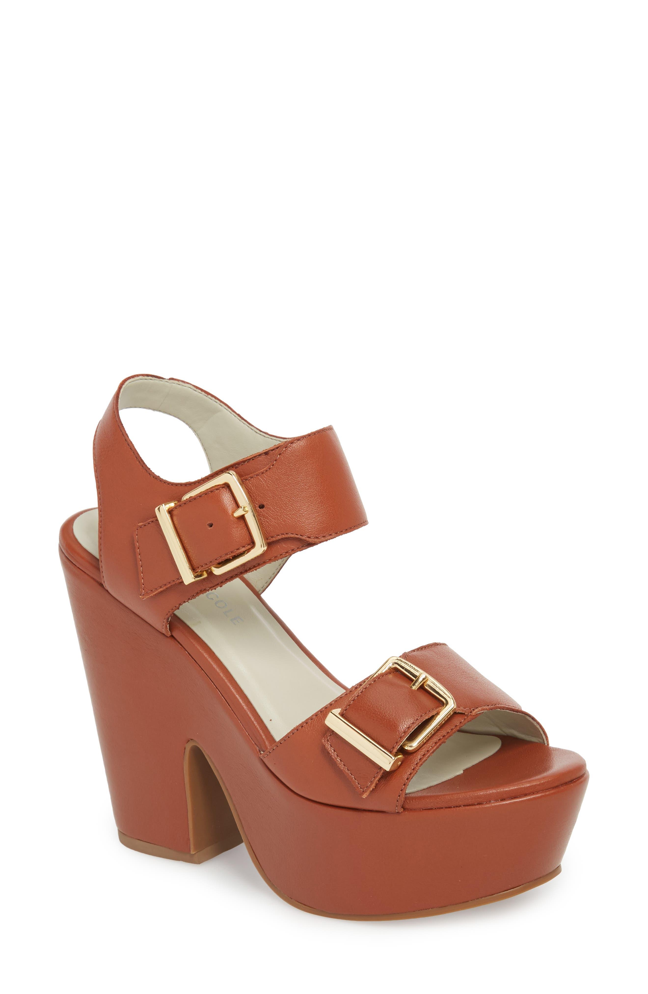 Kenneth Cole New York Shayla Platform Sandal (Women)