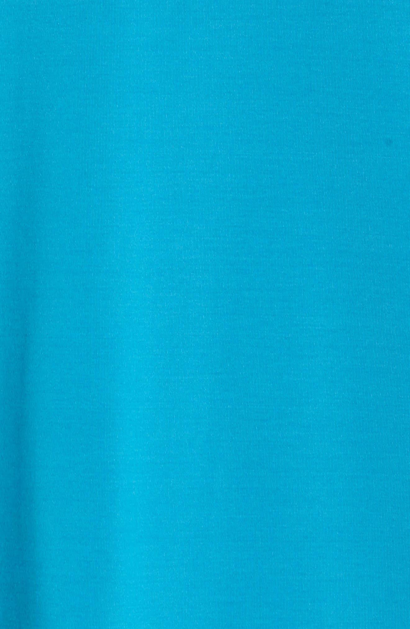 Court Dry Slam Tennis Tank,                             Alternate thumbnail 6, color,                             Neo Turquoise/ Black