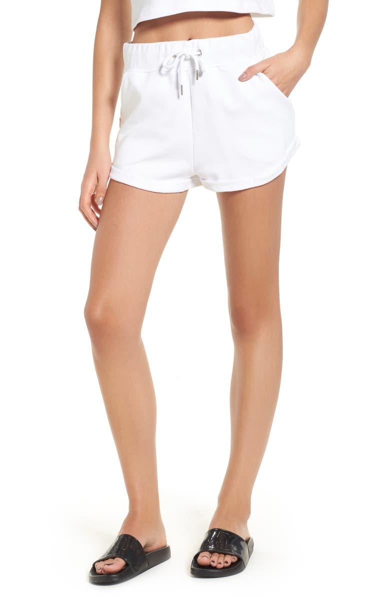 Wedgewood Chenille Logo Shorts