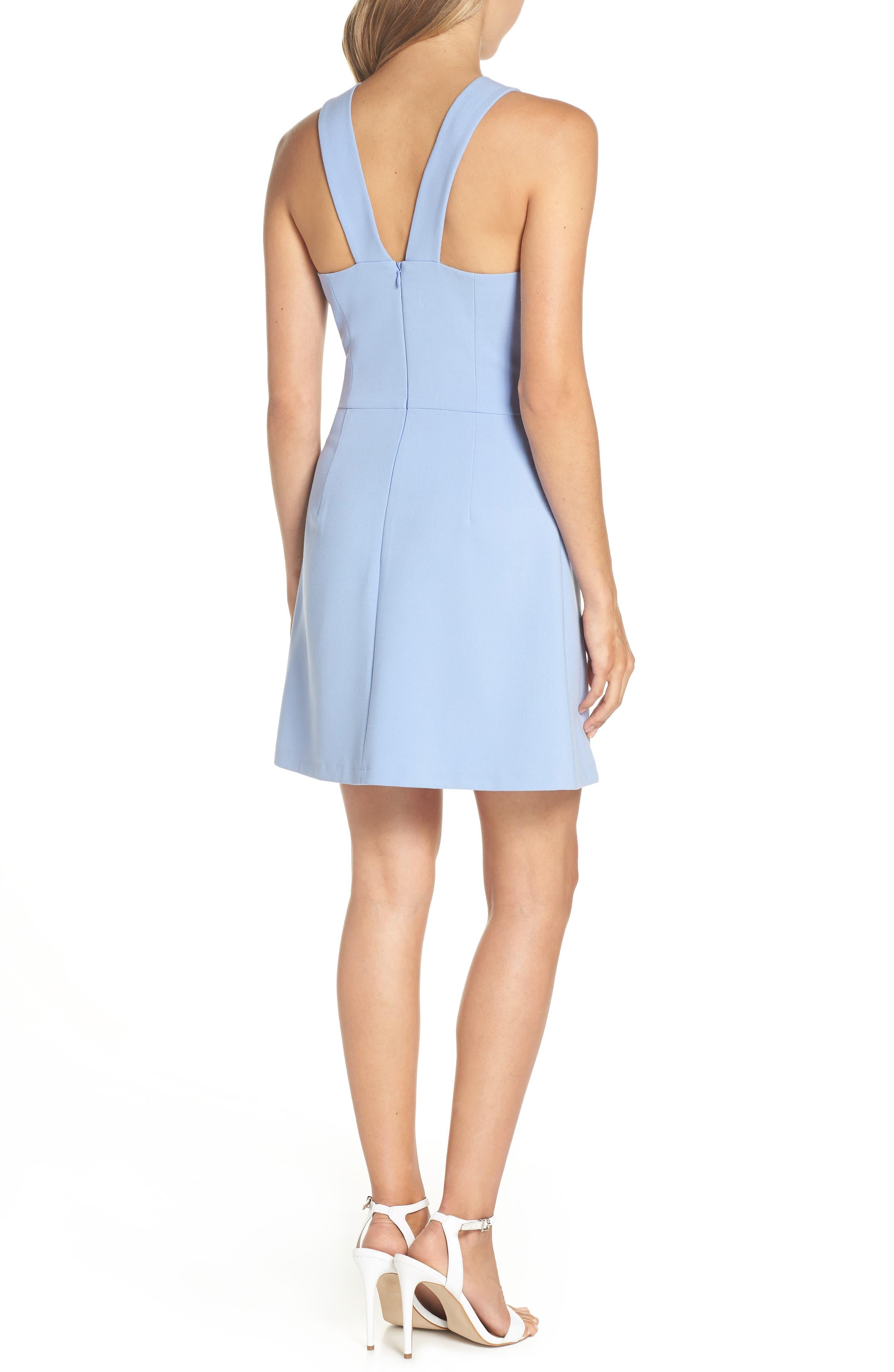 V-Back Tank Dress,                             Alternate thumbnail 2, color,                             Ancona Blue