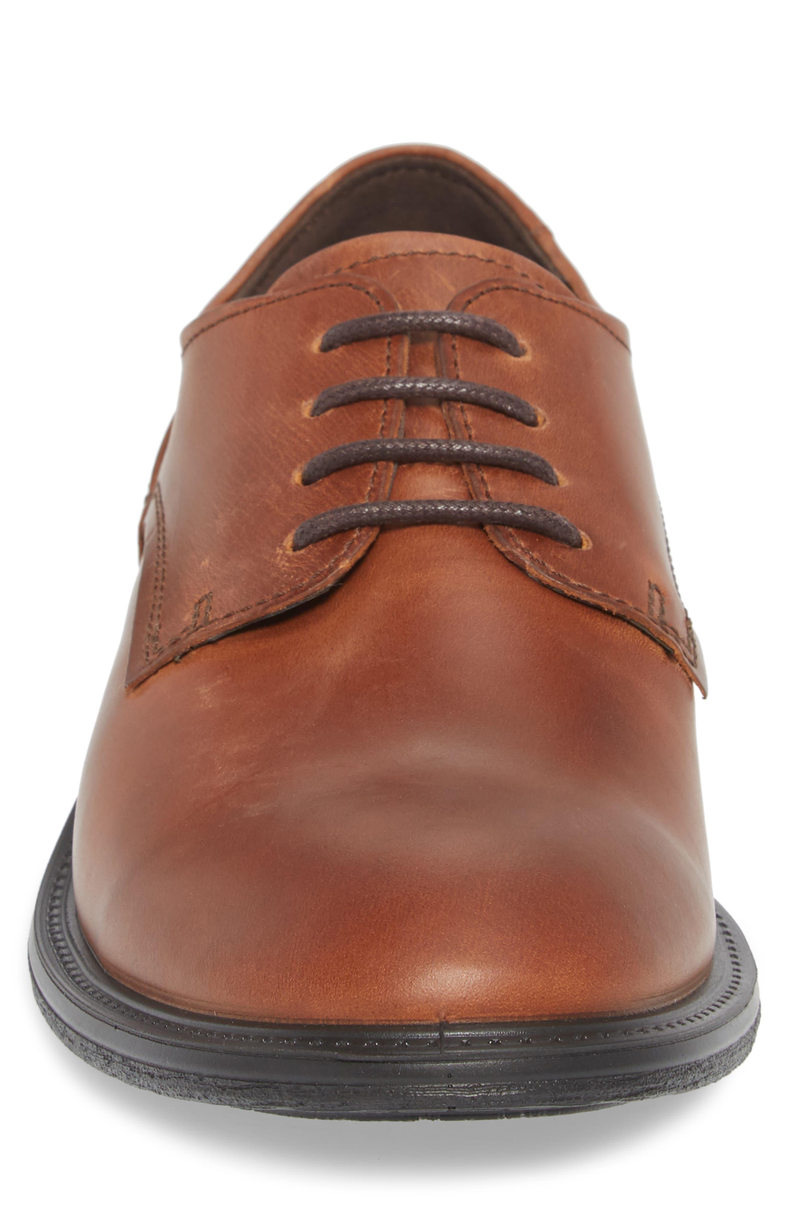 Knoxville Moonless AZT Derby,                             Alternate thumbnail 4, color,                             Cognac Leather