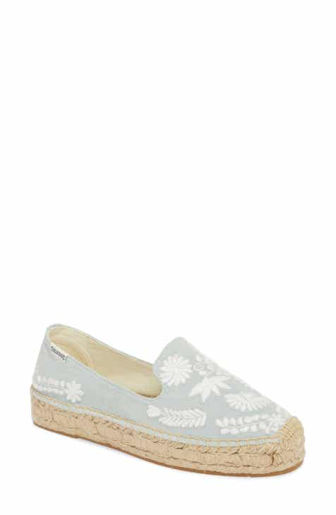 Soludos Ibiza Embroidered Loafer Espadrille (Women) a9cd5d07ccd1