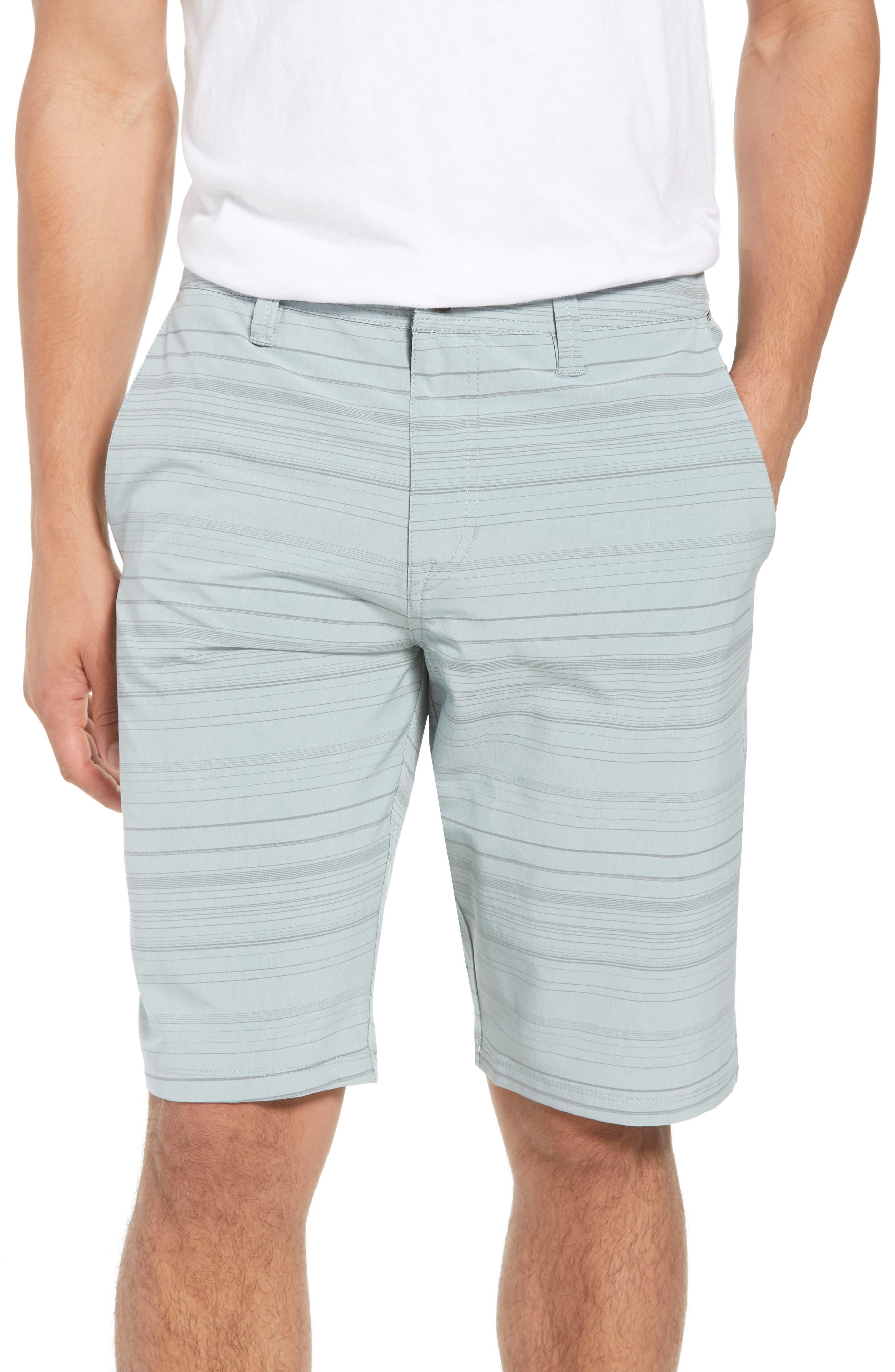 Surf N' Turf Mix Hybrid Shorts,                             Main thumbnail 1, color,                             Lead