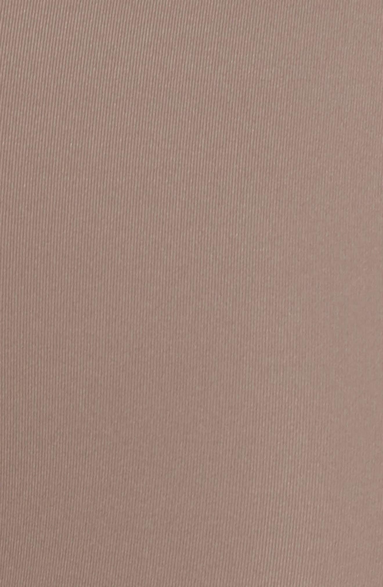 Senso Vision High Waist Crop Leggings,                             Alternate thumbnail 3, color,                             Tan Dusk